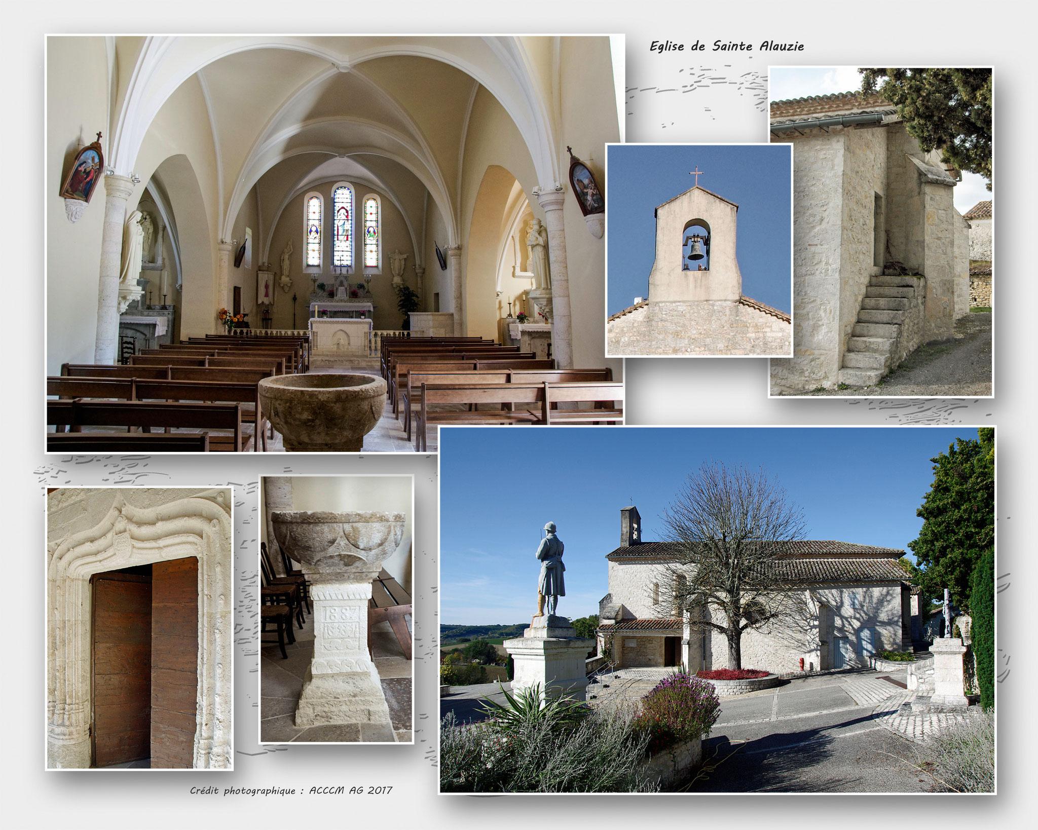 Eglise de Sainte Alauzie