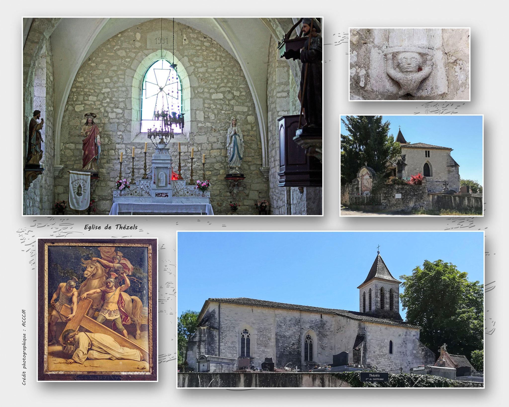 Eglise de Thézels