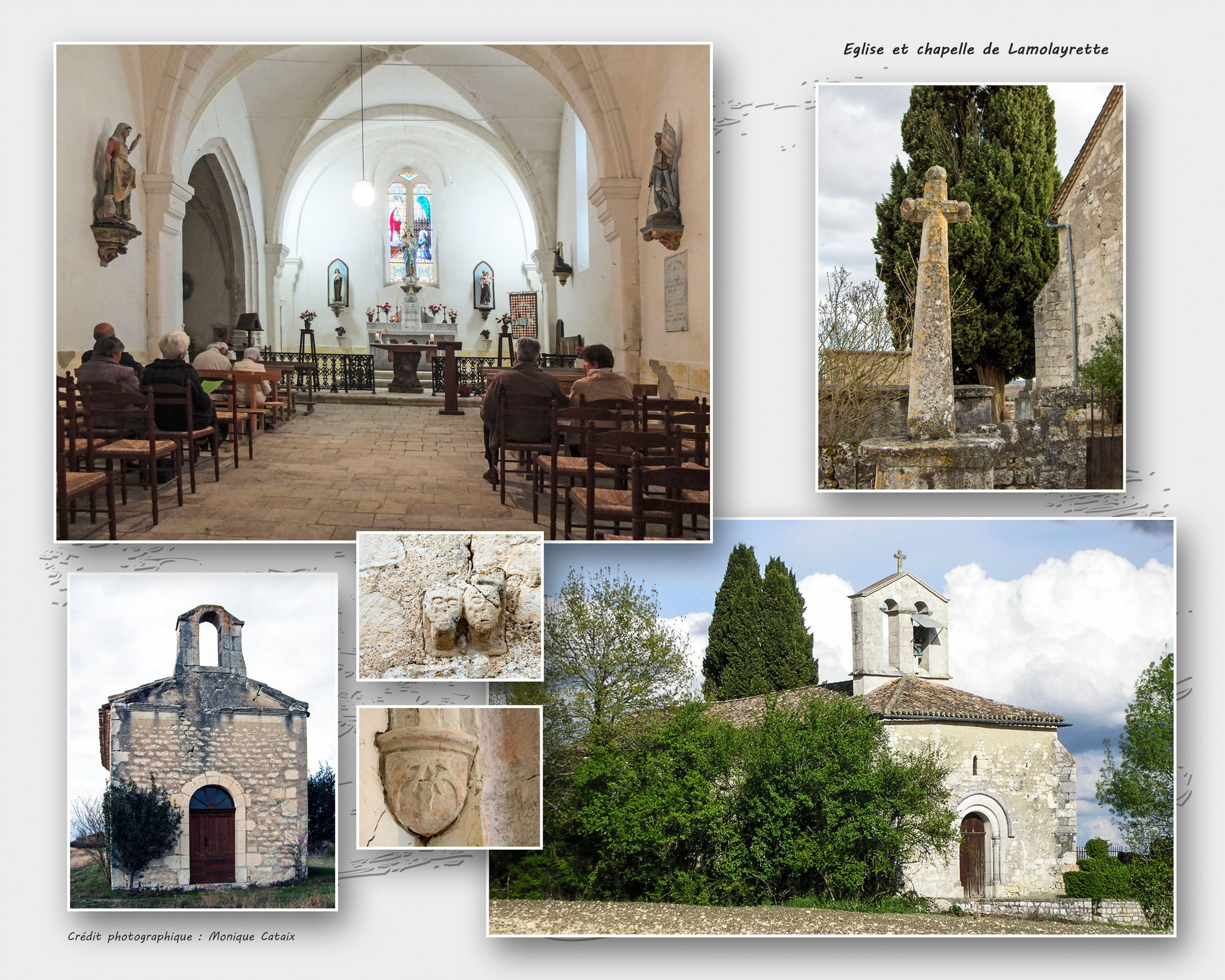 Eglise de Lamolayrette
