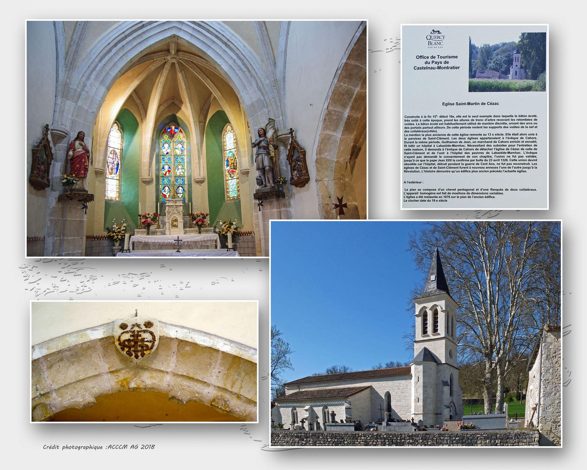 Eglise Saint Martin de Cézac (1)