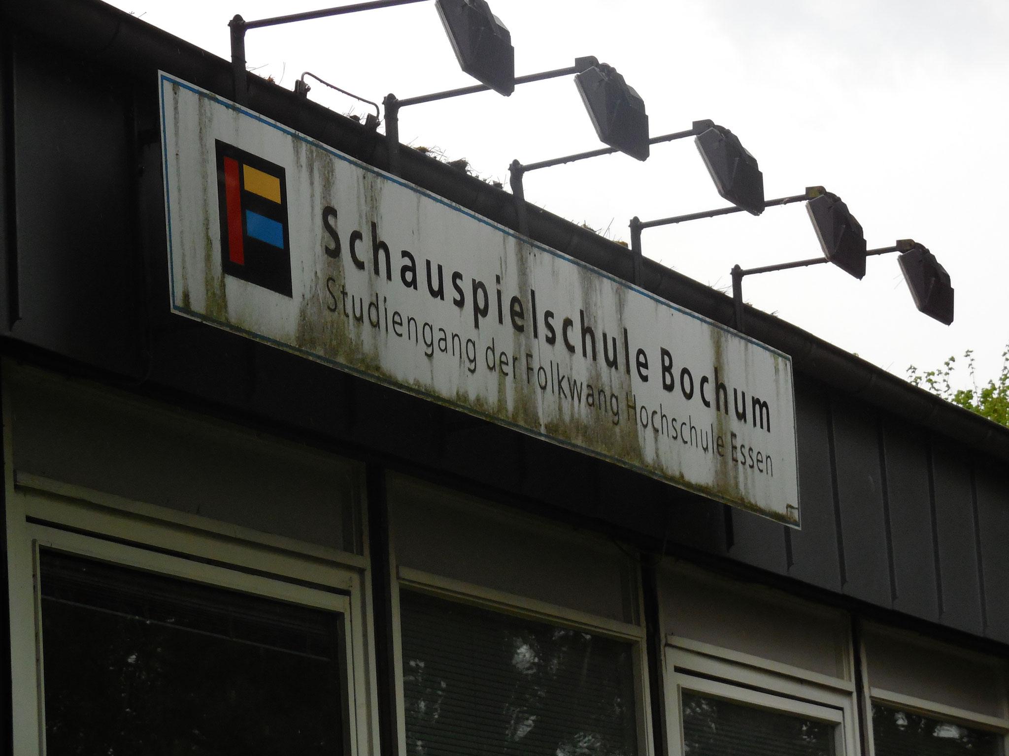 Impressionen ehemaliges Gebäude Schauspielschule Bochum