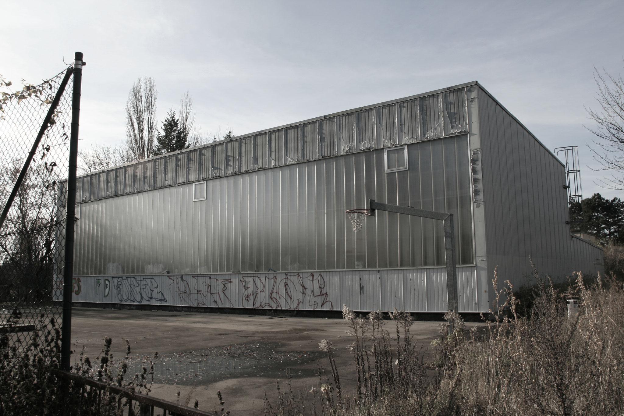 Impressionen Gelände ehemaliges Otto von Guericke Gymnasium, Magdeburg