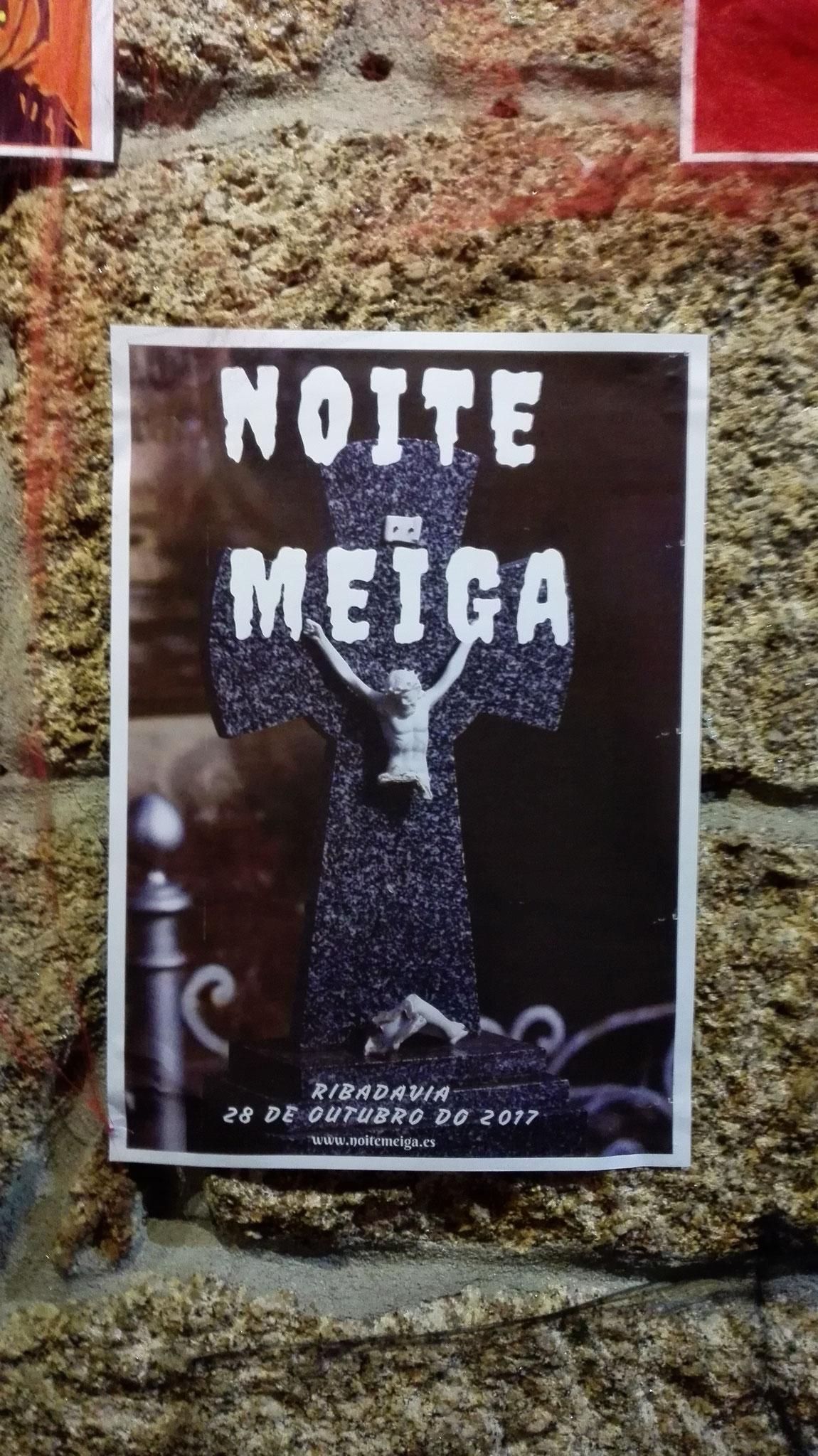 Exposición Carteles Noite Meiga 2017 - Ribadavia - Orense