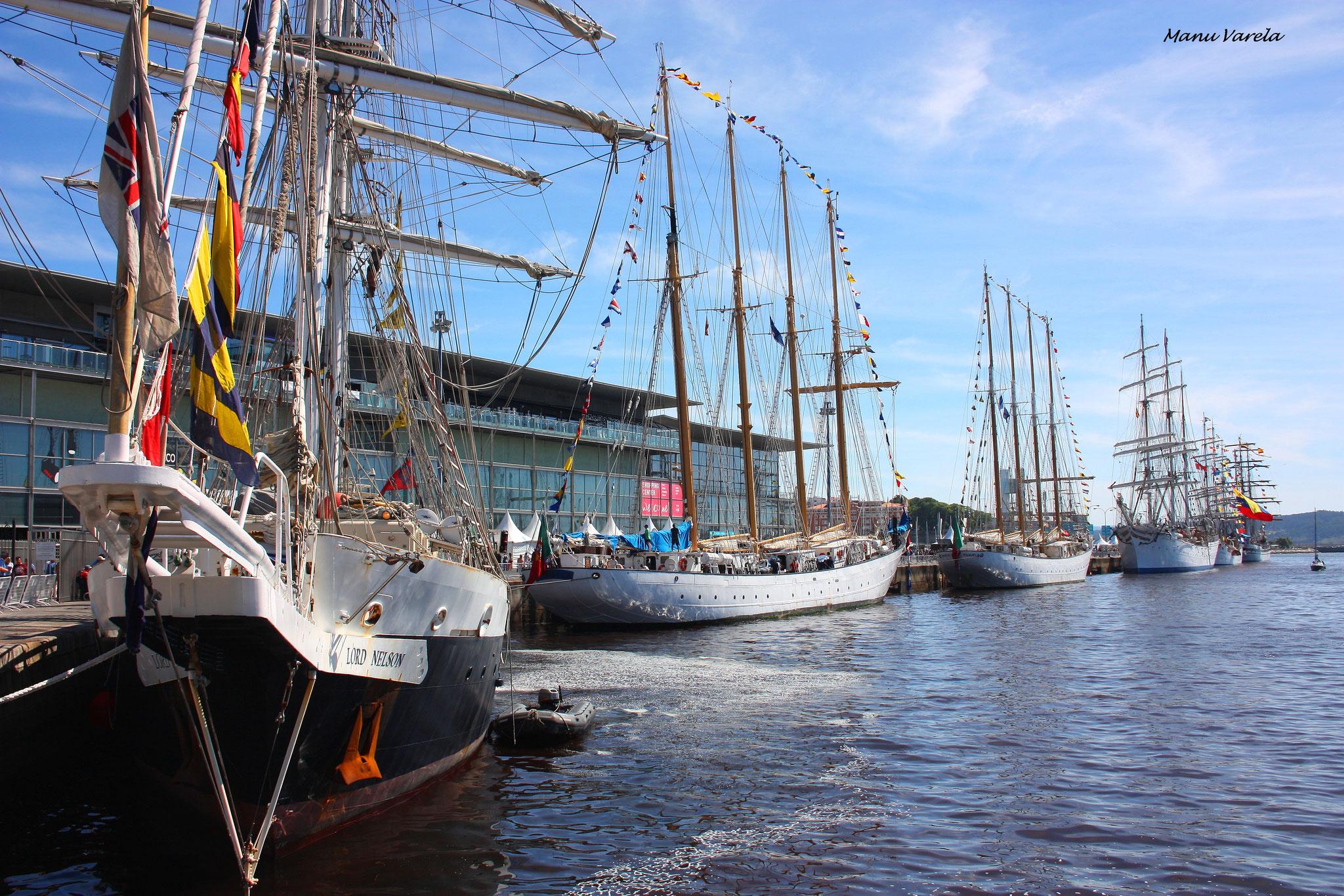 Tall Ships Races La Coruña - Agosto 2016