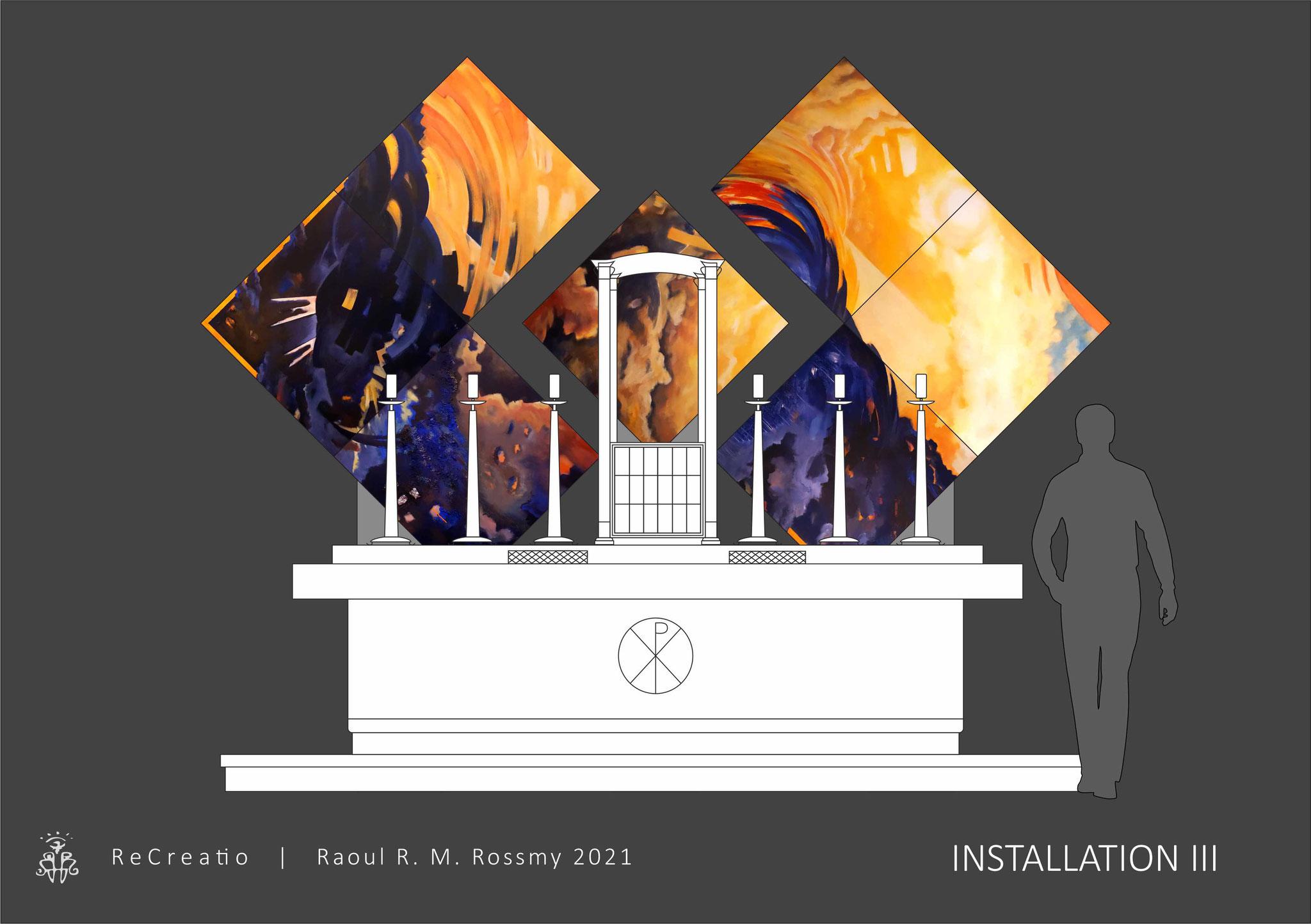 ReCreatio | Raoul R. M. Rossmy 2021 | Installation III