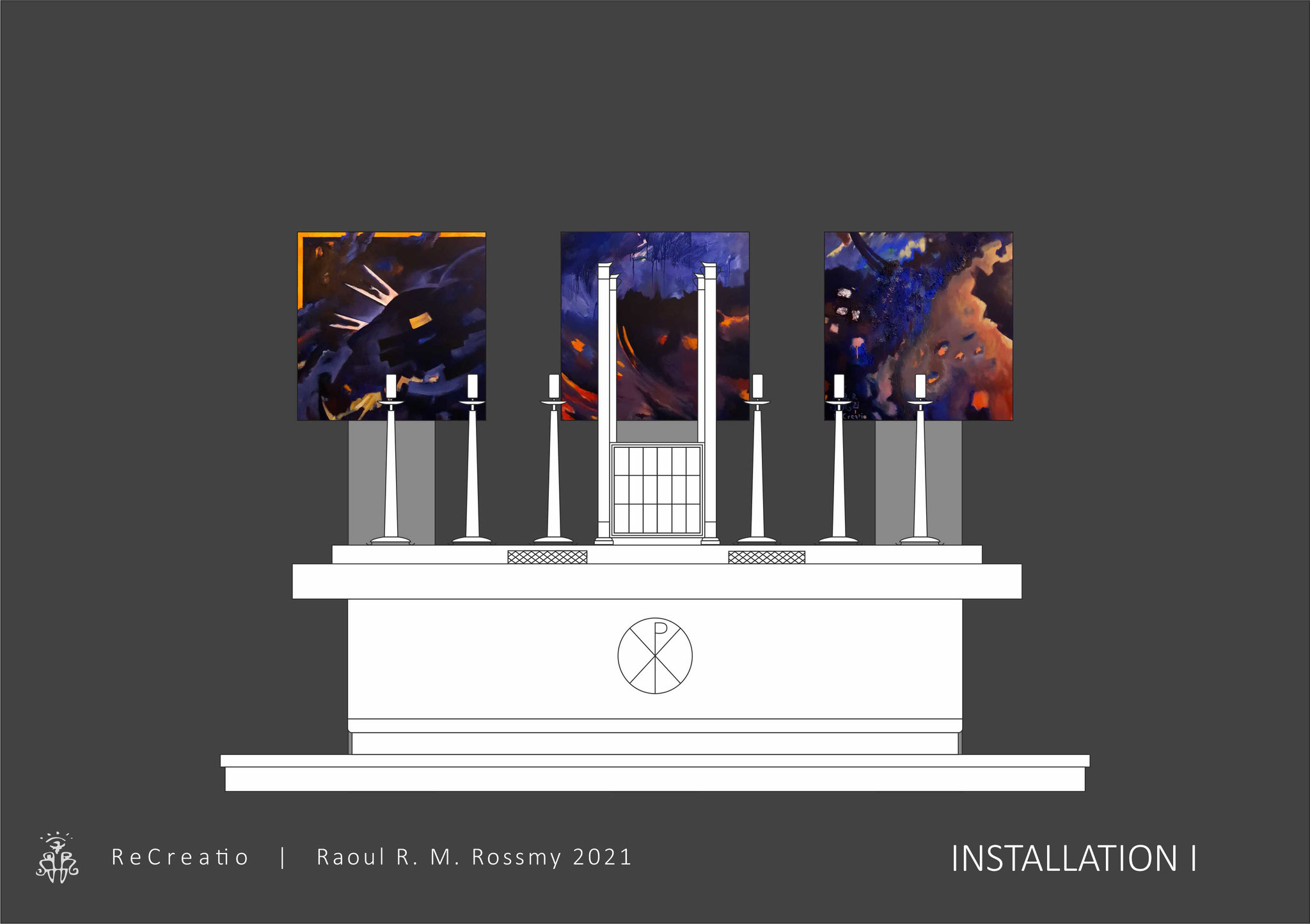 ReCreatio | Raoul R. M. Rossmy 2021 | Installation I