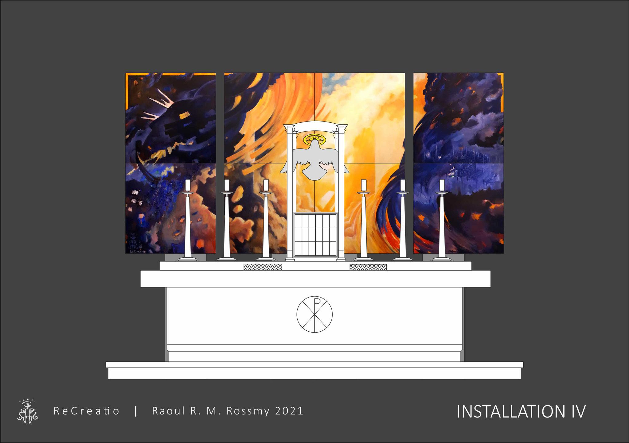 ReCreatio | Raoul R. M. Rossmy 2021 | Installation IV