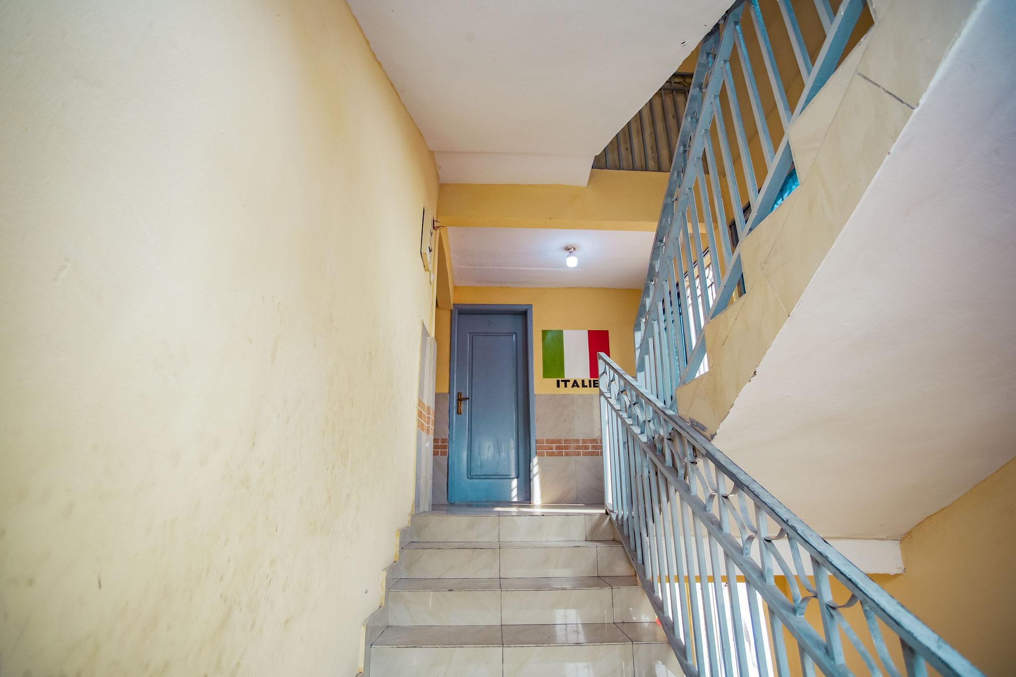 Ein sicheres Treppenhaus