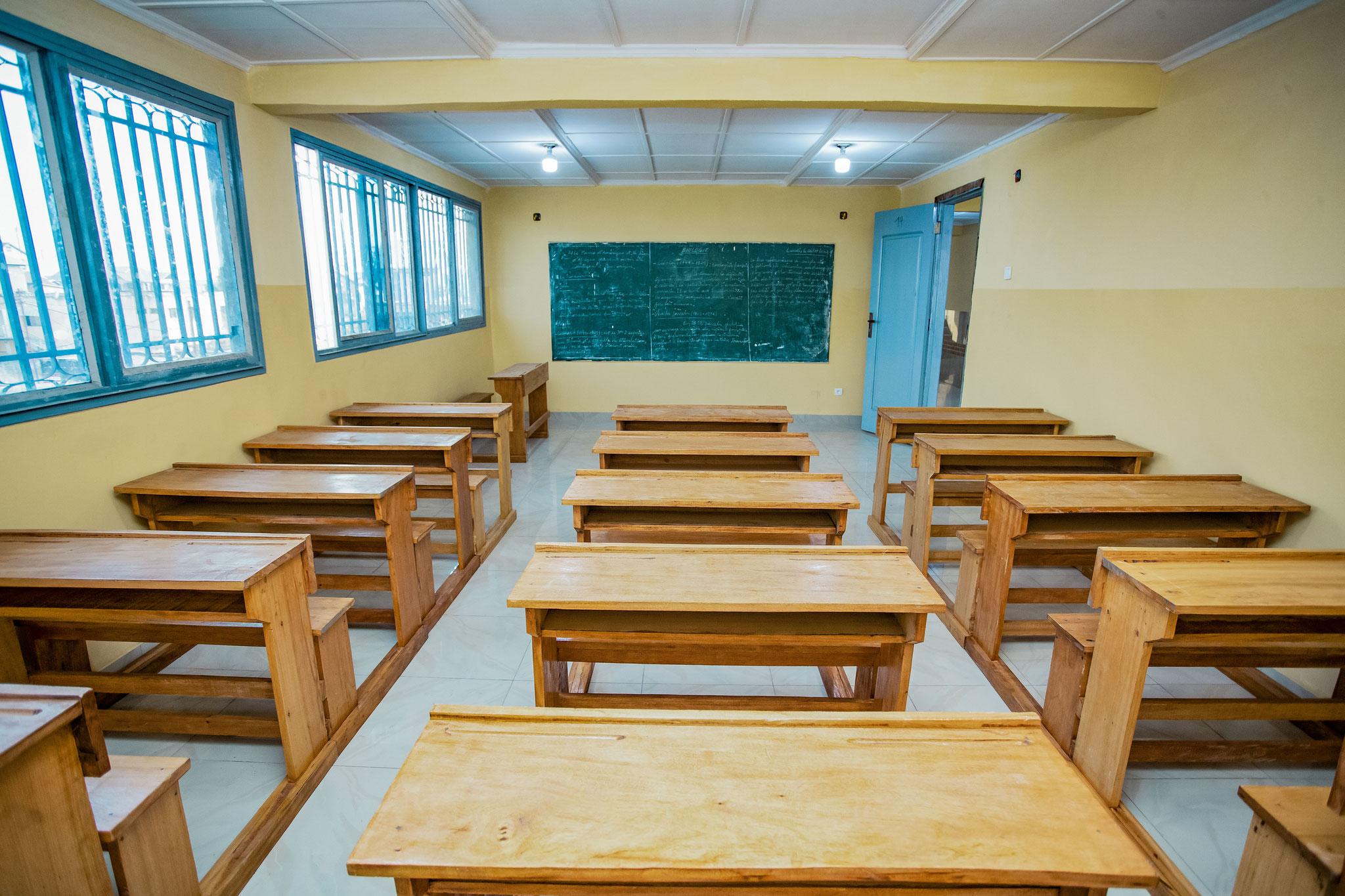 Die neuen Klassenräume