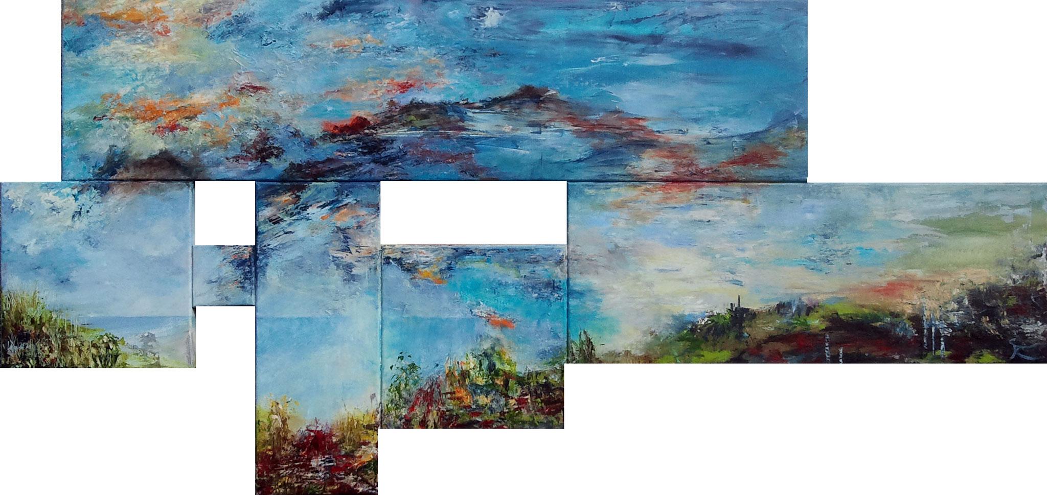 Forgotten Land 80 x 170 cm verkocht