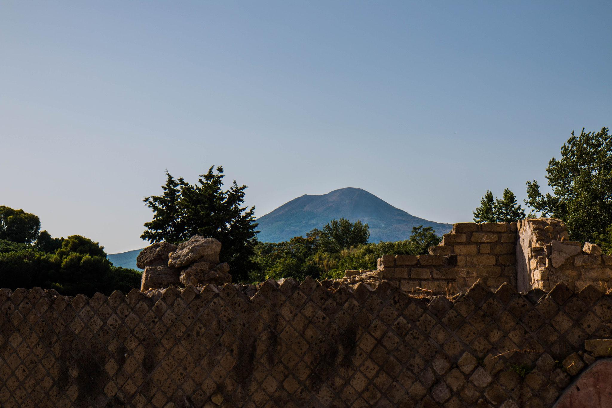 Pompei am Fuße des Vesuv
