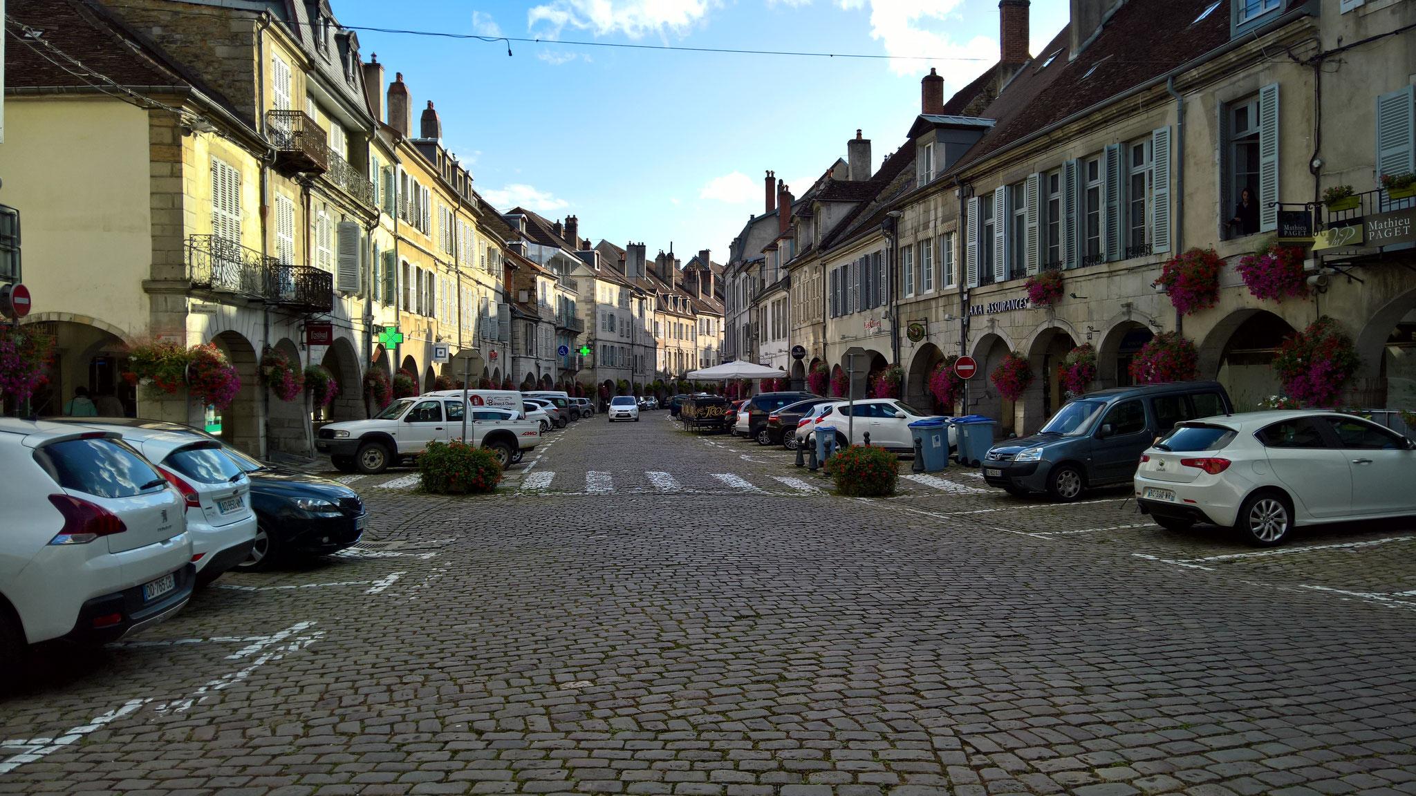 Ausflug nach Lons-le-Saunier