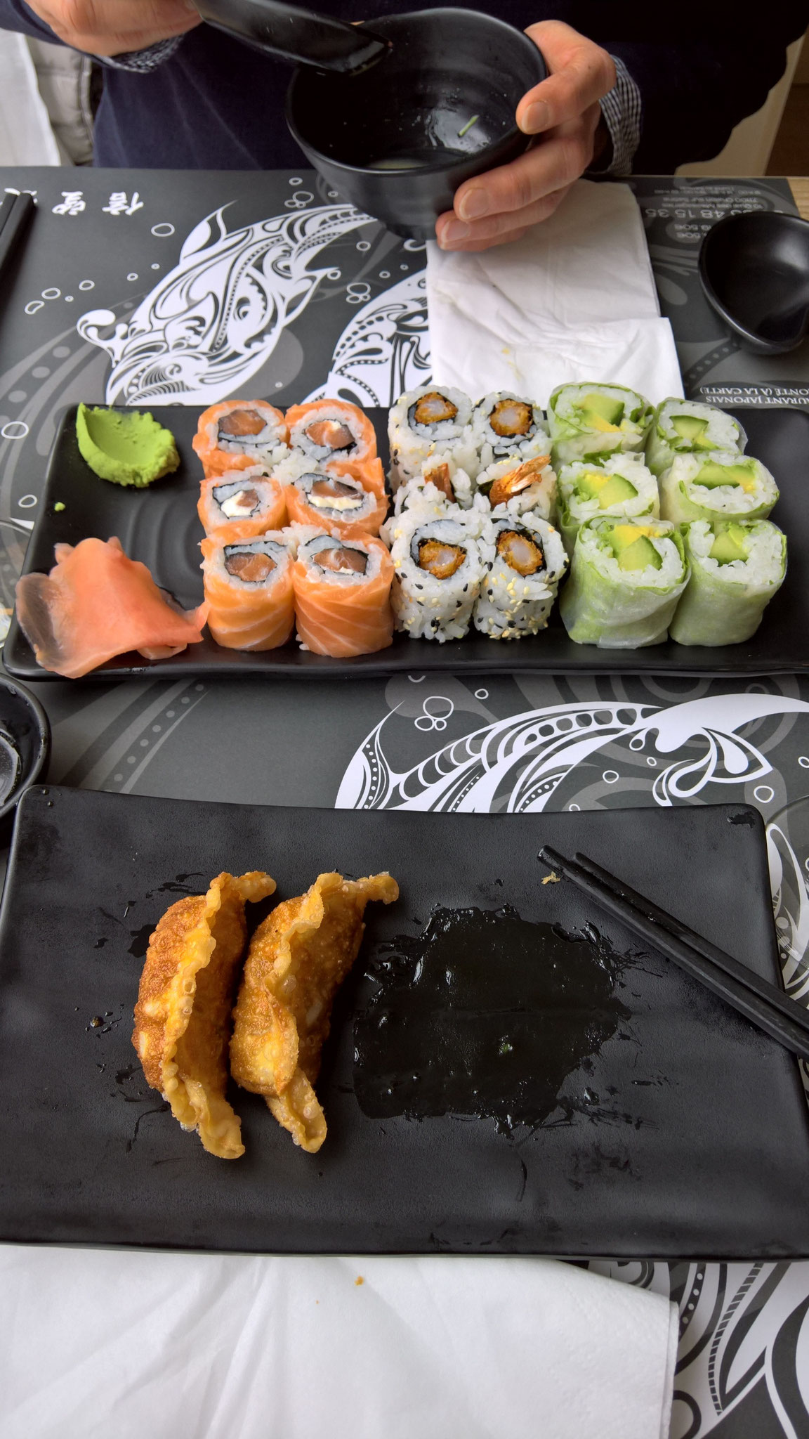 Sushi-Essen in Chalon-sur-Saone