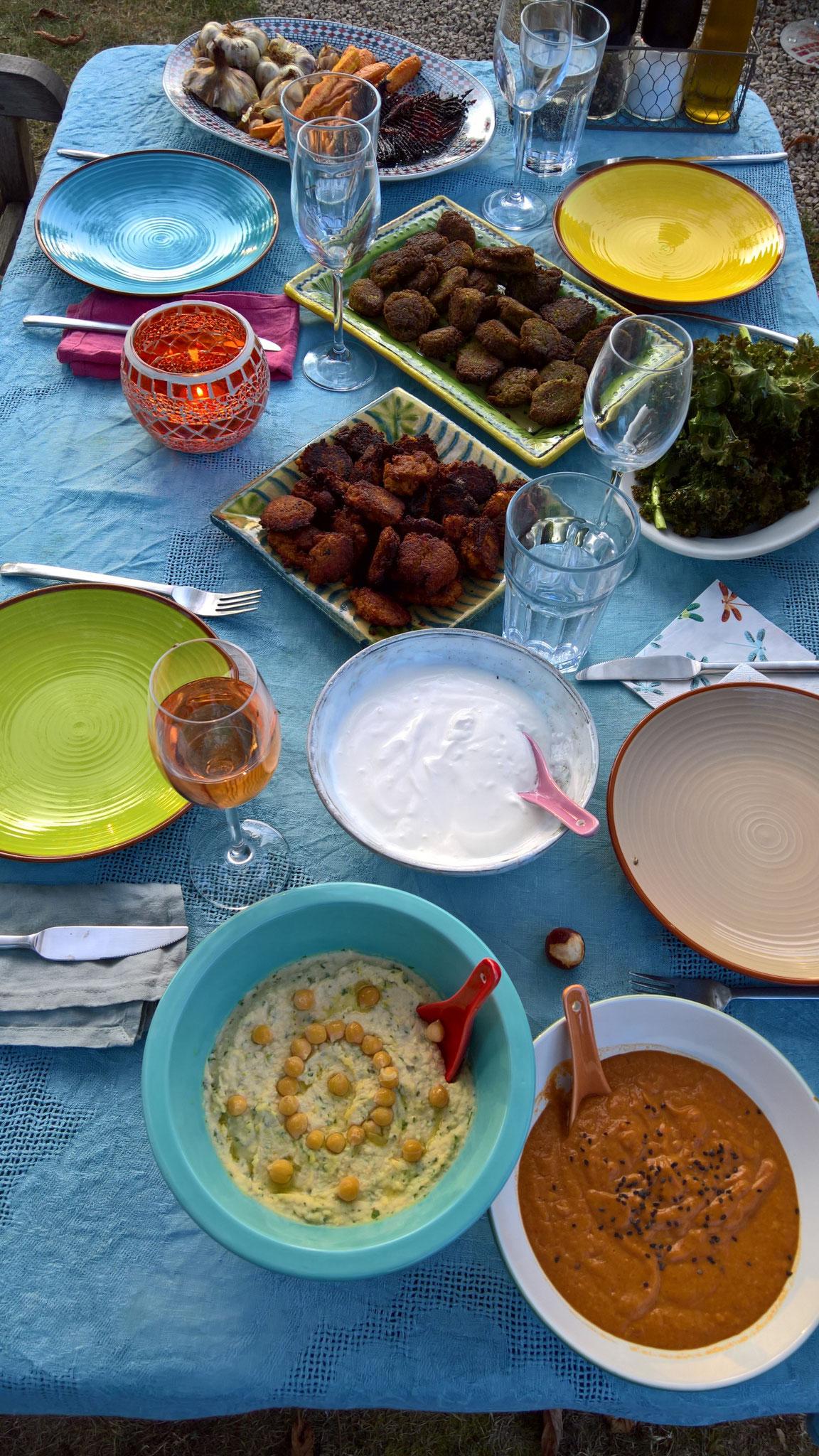 Leckeres marrokanisches Abendessen - Test fürs Fest