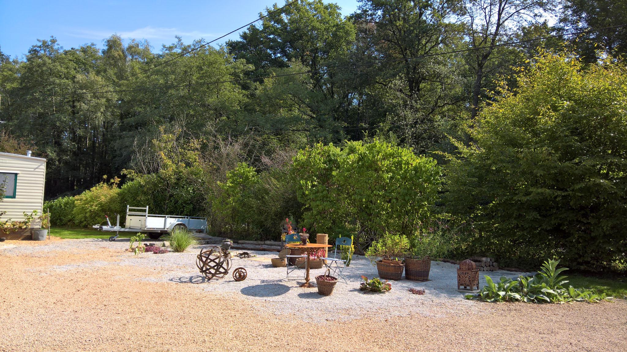 Unser jüngstes Projekt: der Steingarten vor dem Haus