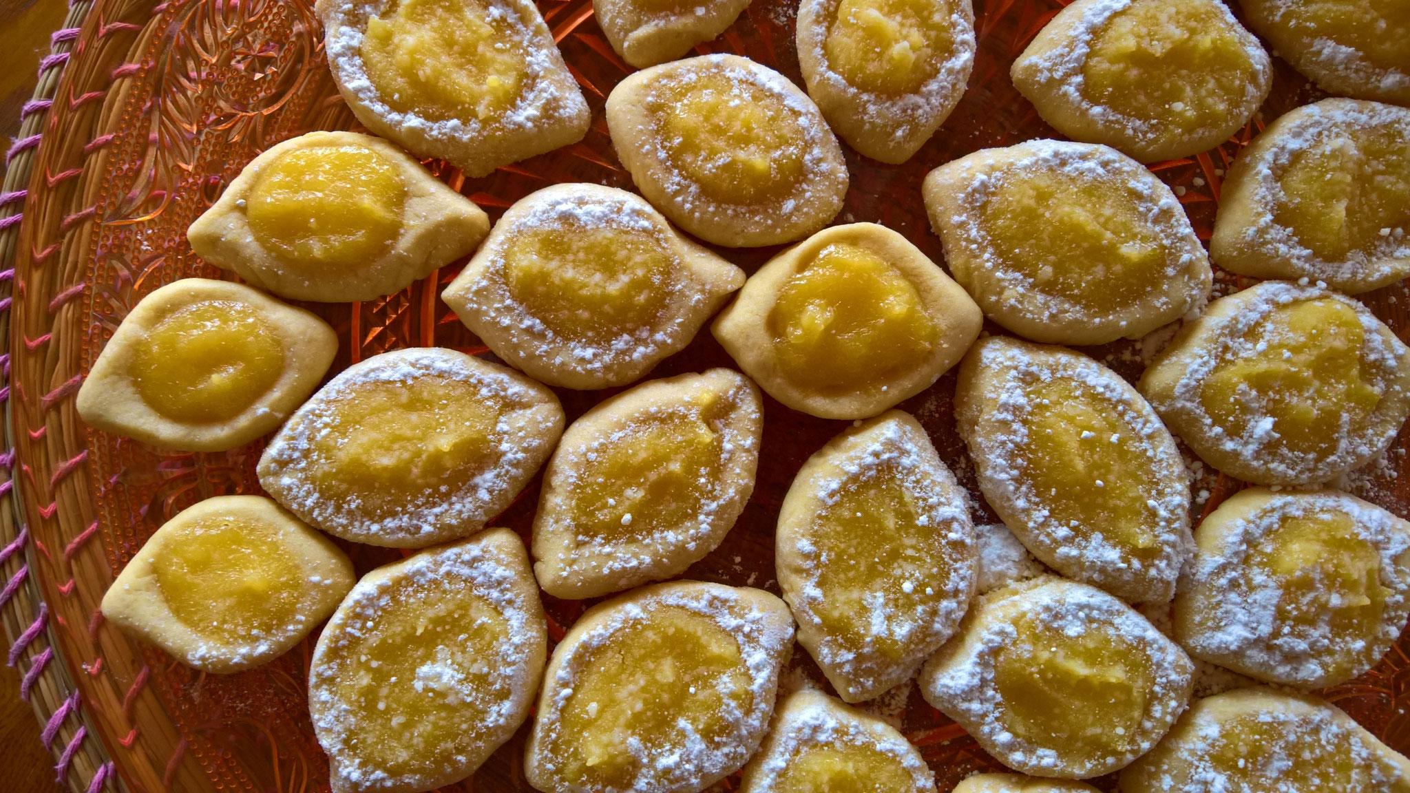 Limoncelli - leckere Zitronenkekse