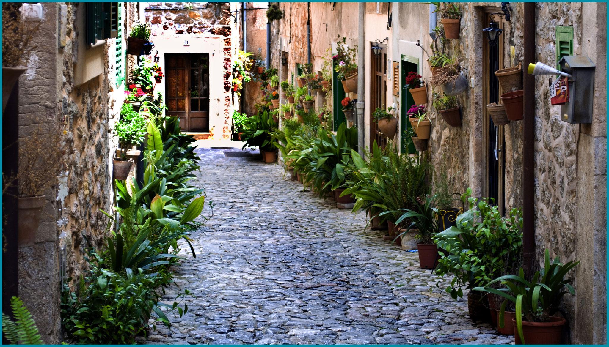 Calle en Valldemossa