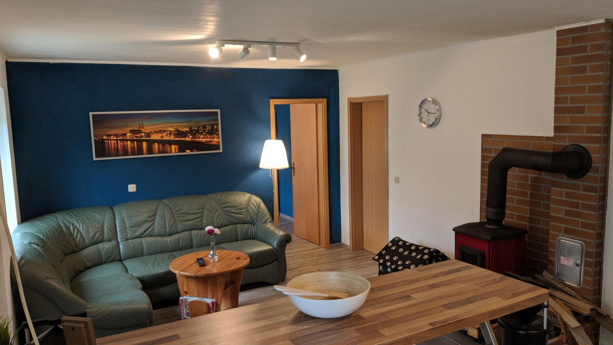 Ferienhaus Baalsee - Wohnbereich
