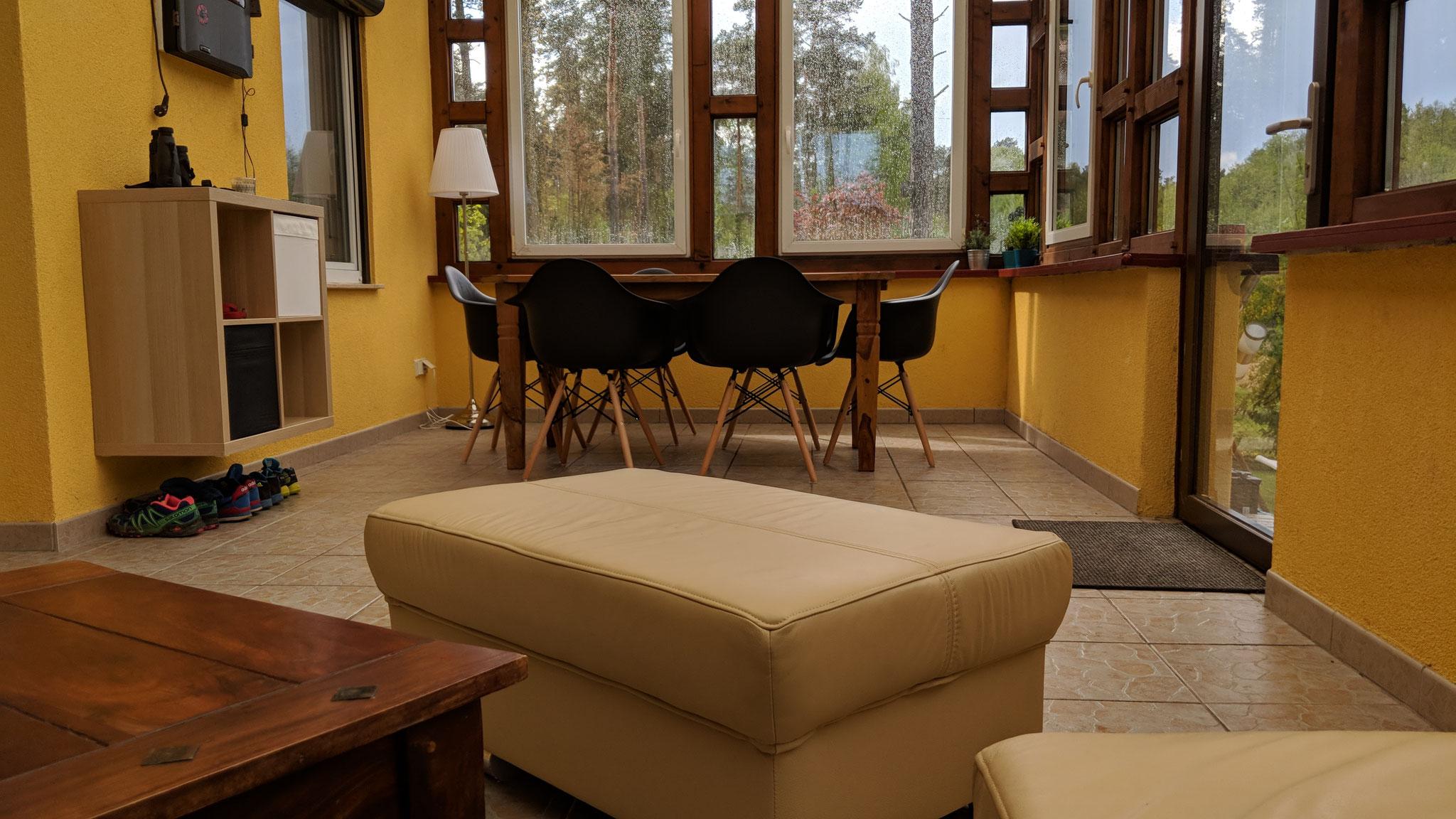 Ferienhaus Baalsee Wintergarten