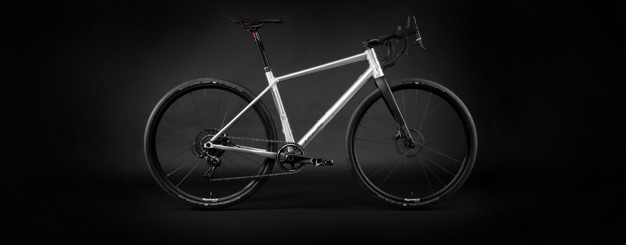 Spezielle Geometrie nach den Erfahrungen aus der Entwicklung von Mountainbikes