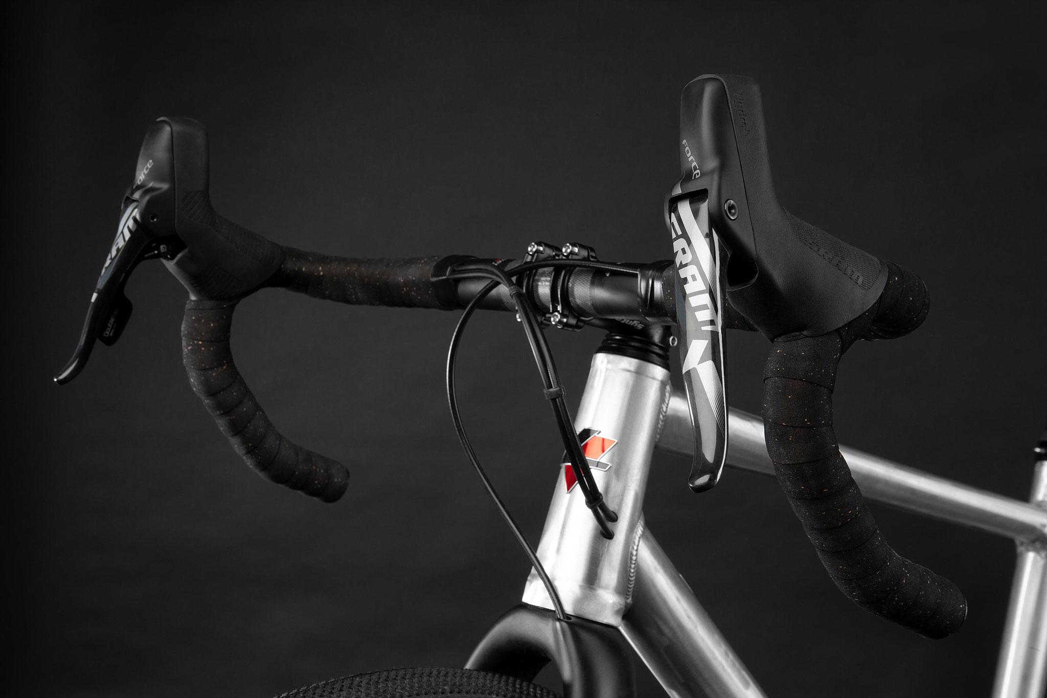 Neu entwickelter Gravellenker Syntace Racelite Carbon 500mm !