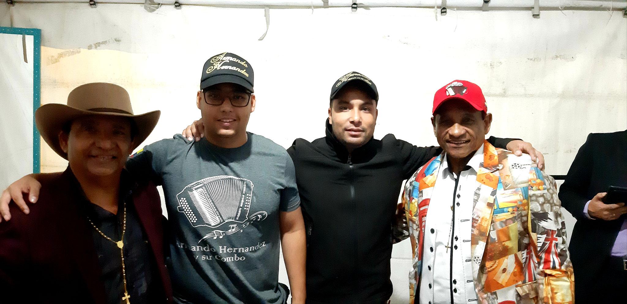 Armando Hernández y su Combo en feria de Manizales enero 2019