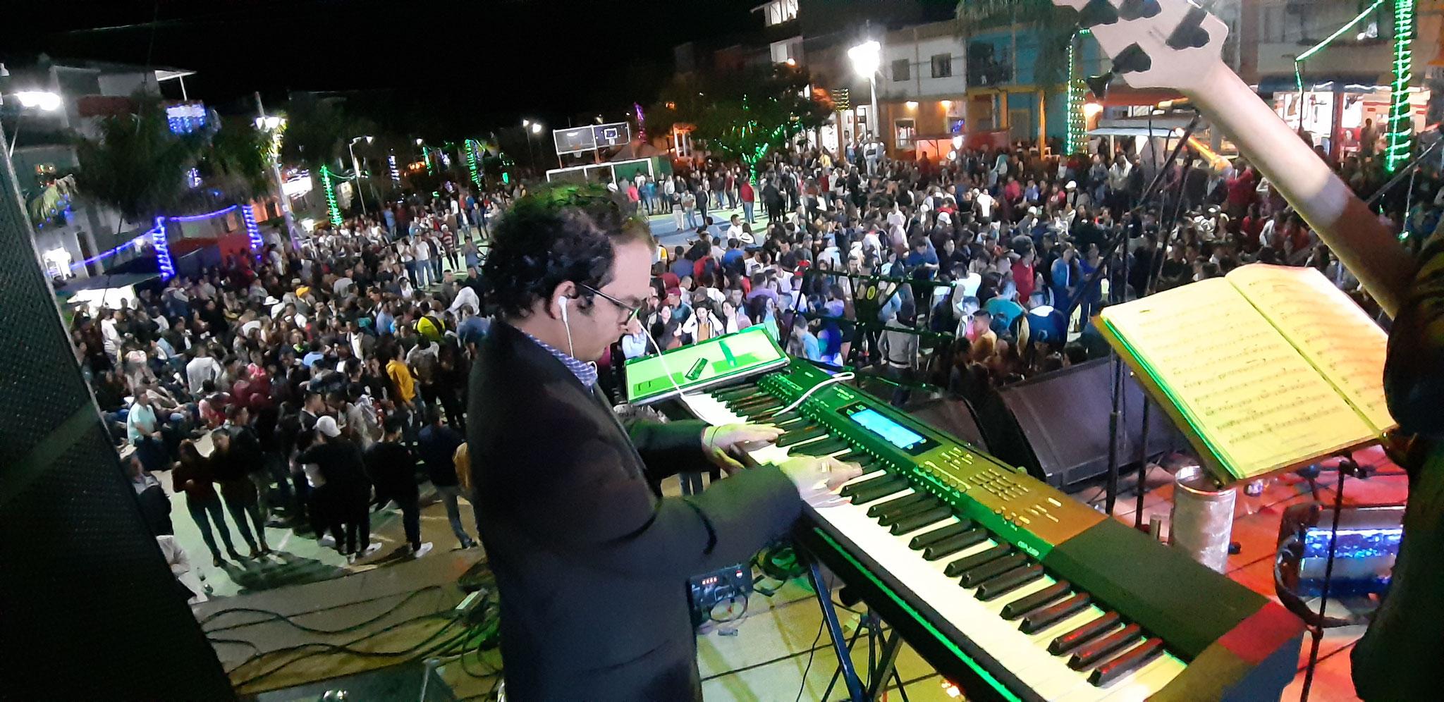 Armando Hernández y su combo en Taminango Nariño 22 dic 2019