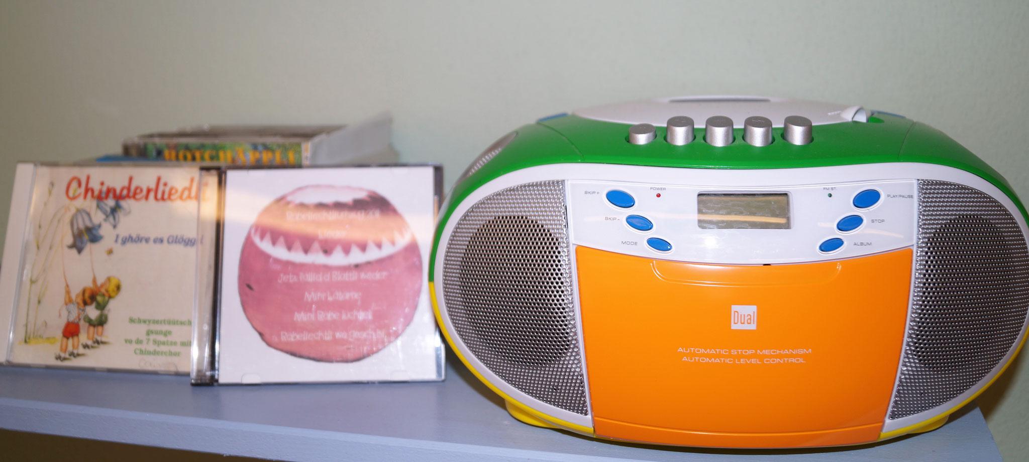 oder Musik zuhören