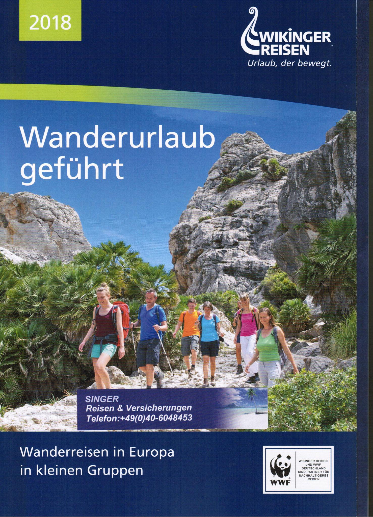 Wikinger Wanderurlaub geführte und Individuelle Touren