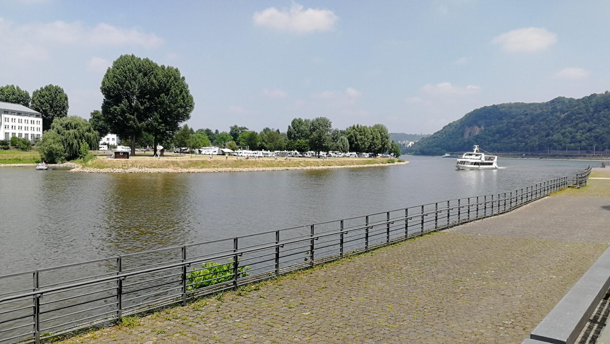 bis nach Koblenz