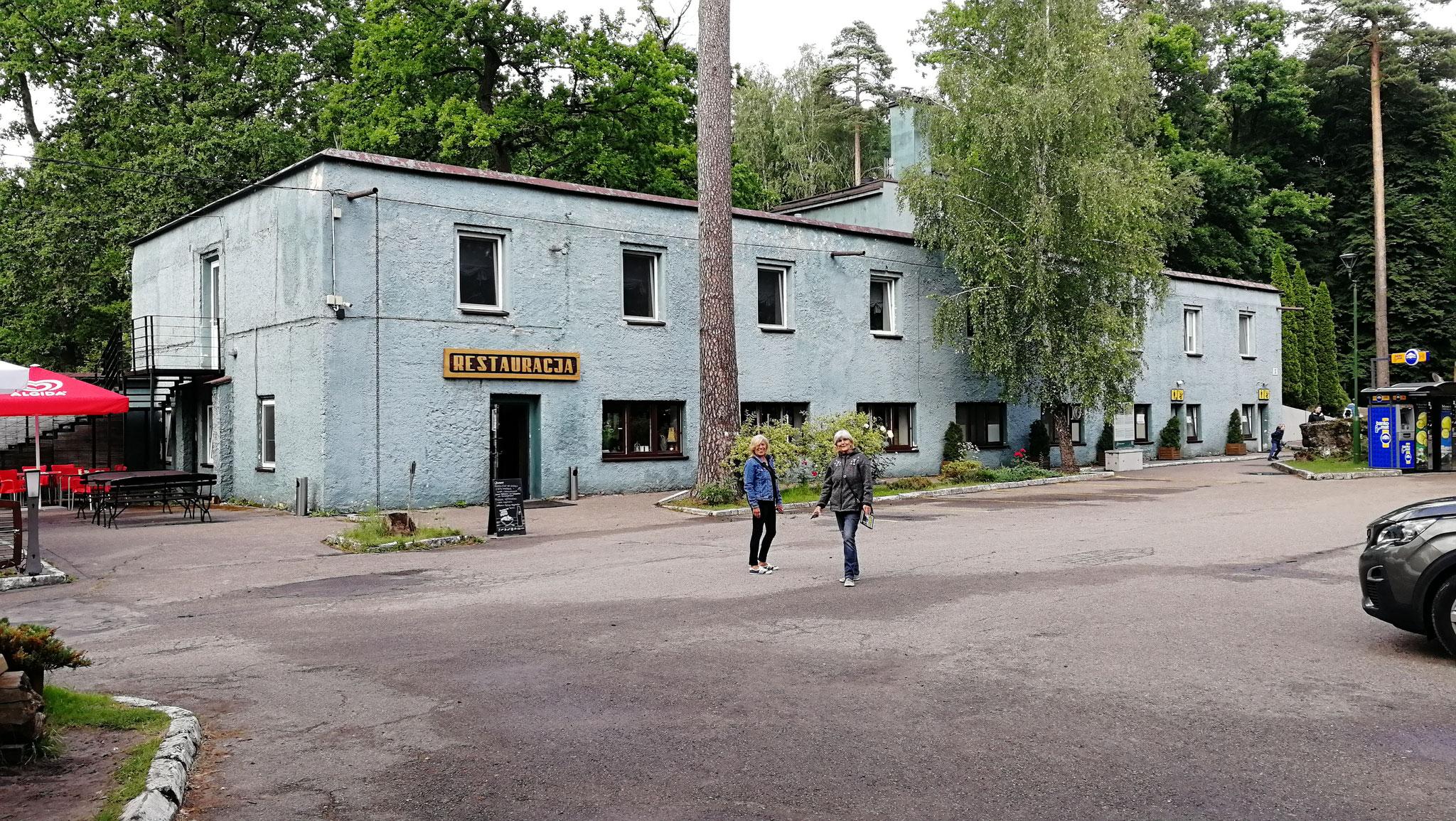 Heute Gaststätte und Hotel