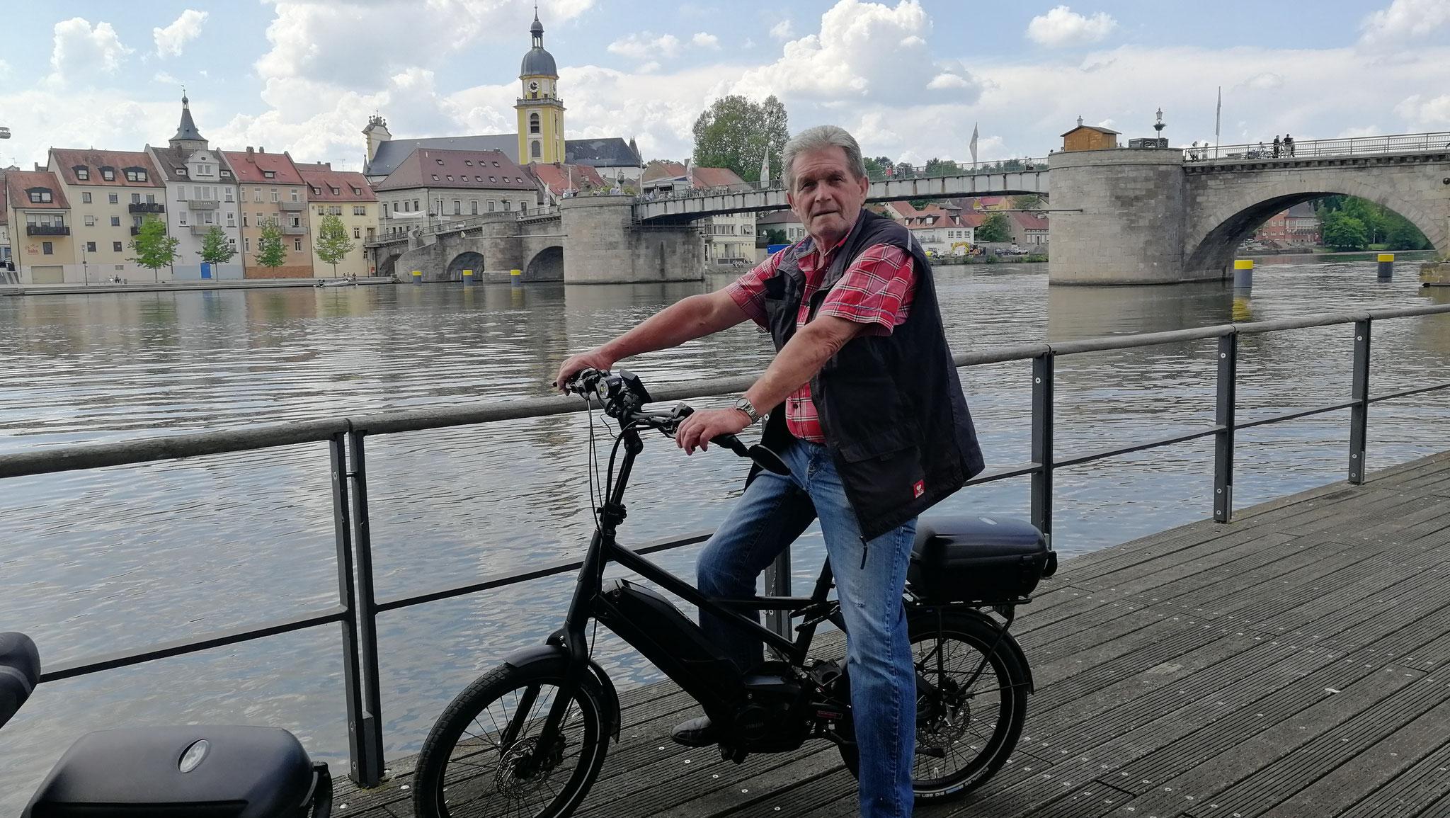 Radtour nach Kitzingen