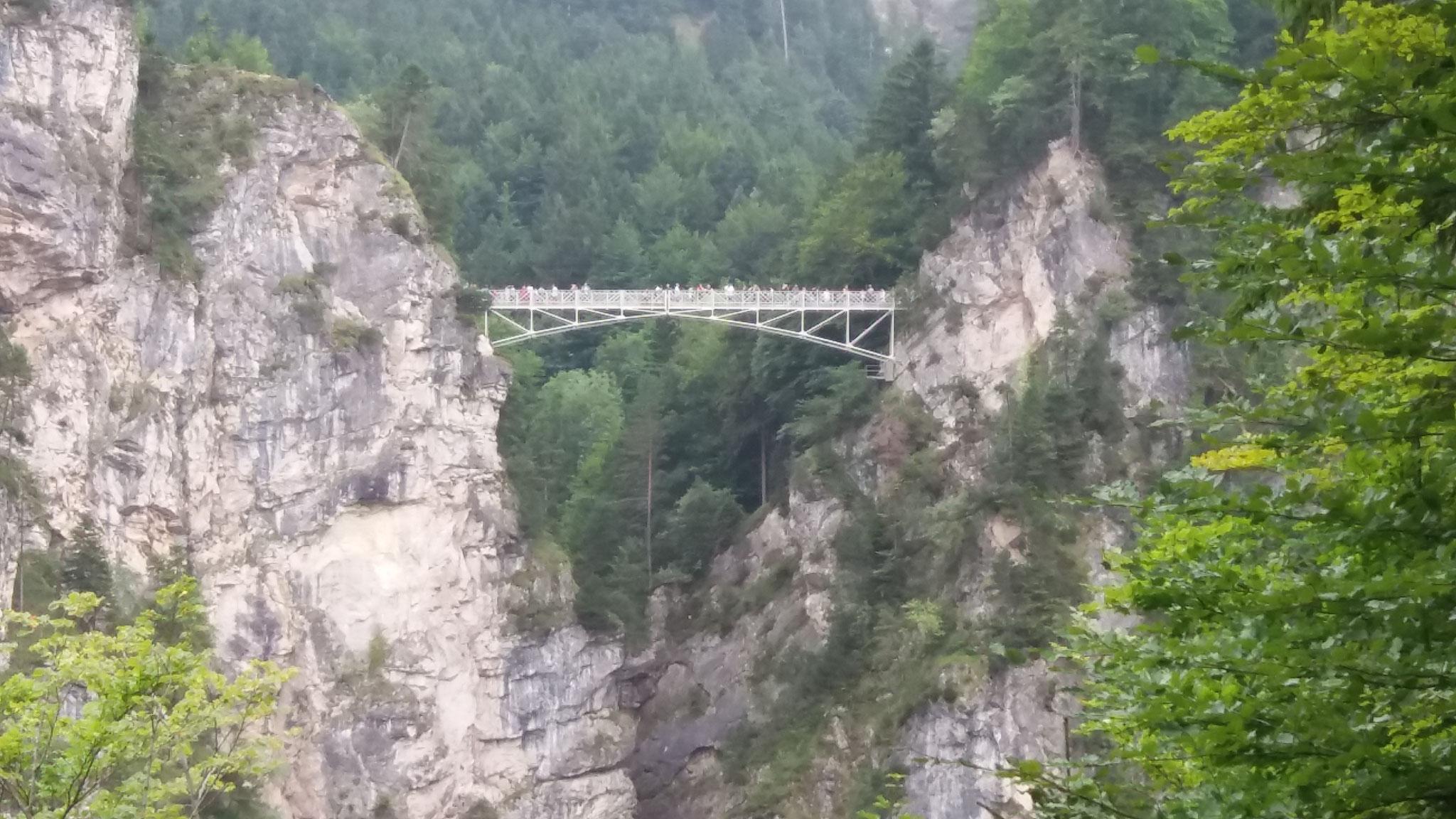 Marienbrücke vom Schloß aus gesehen