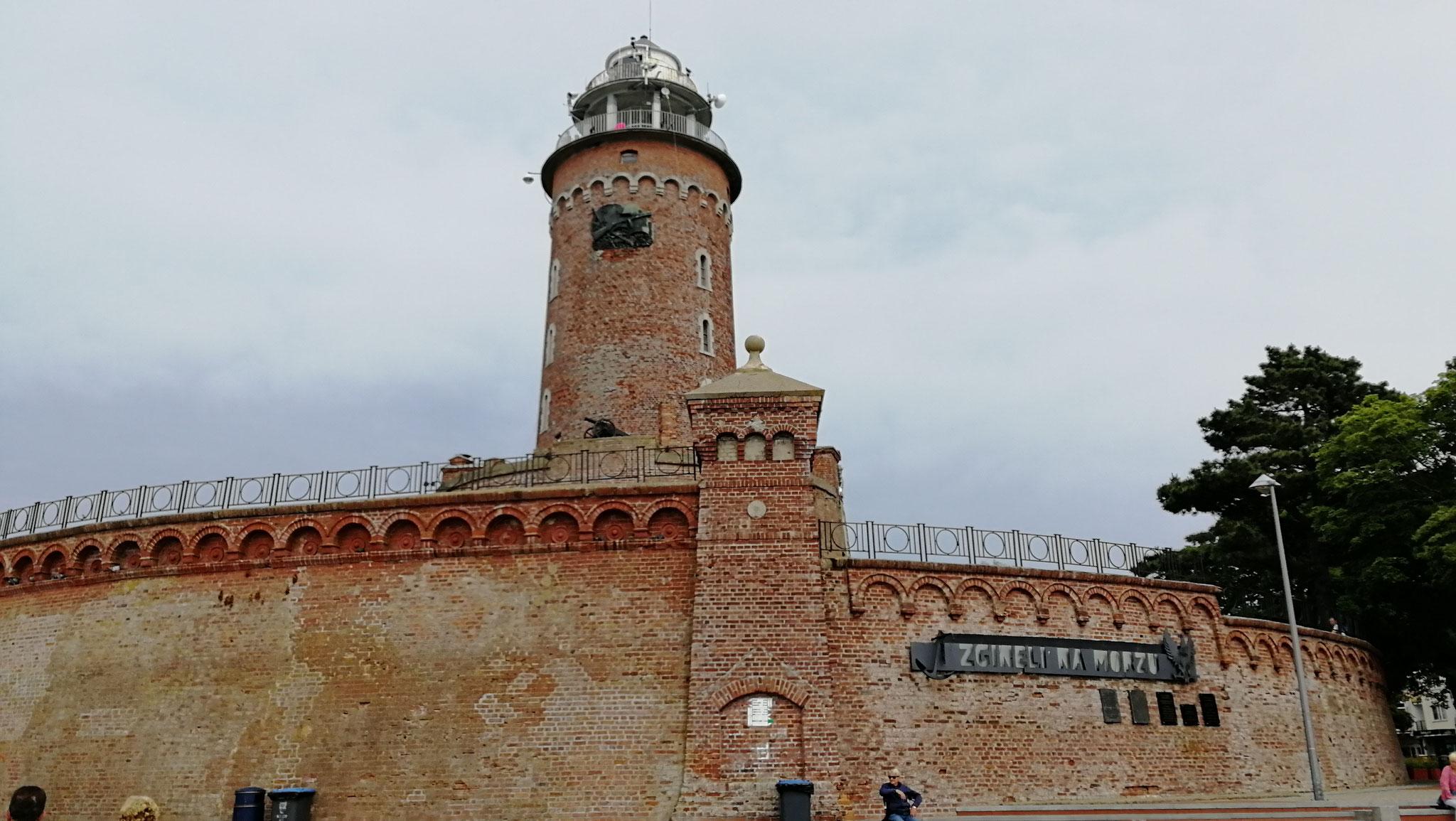 Leuchtturm auf Fort Münde