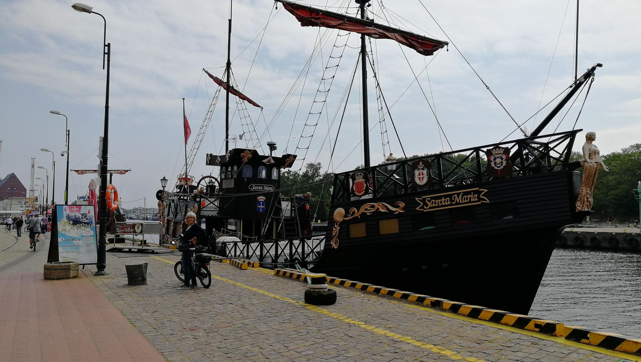 Piratenschiffe gibt es überall