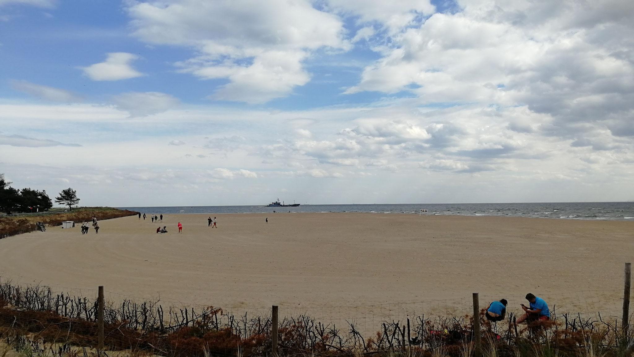Strandabschnitt an der Danziger Bucht