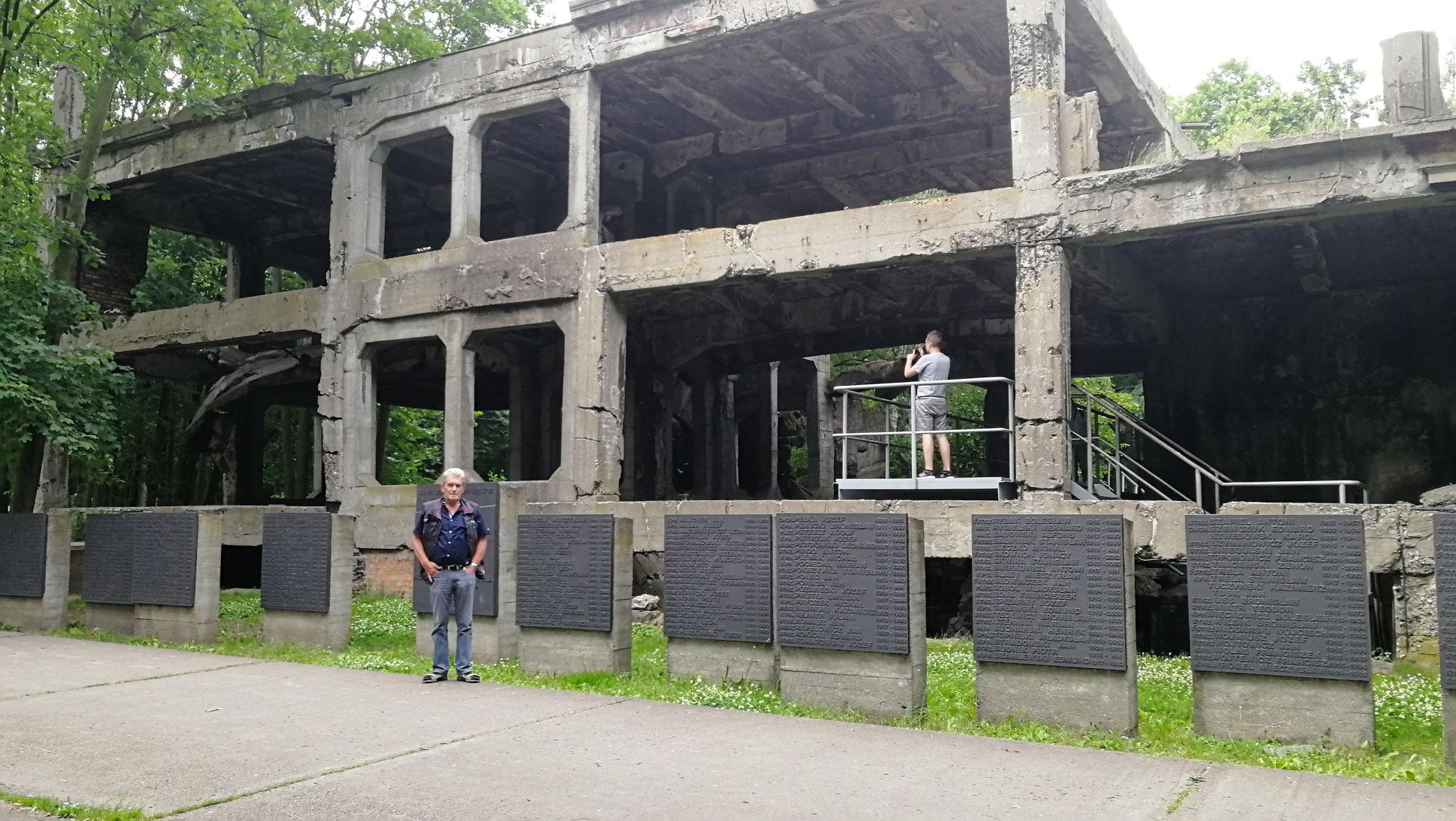 Ruinen auf der Westerplatte