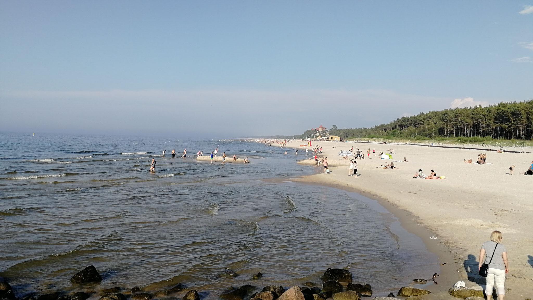 Strandabschnitt von Leba
