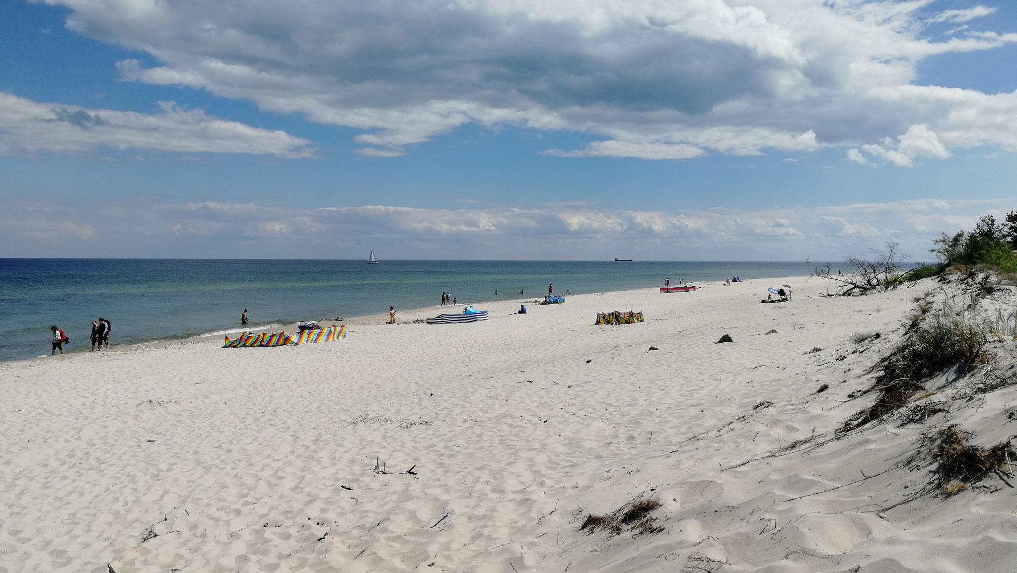 Strandabschnitt Ostsee