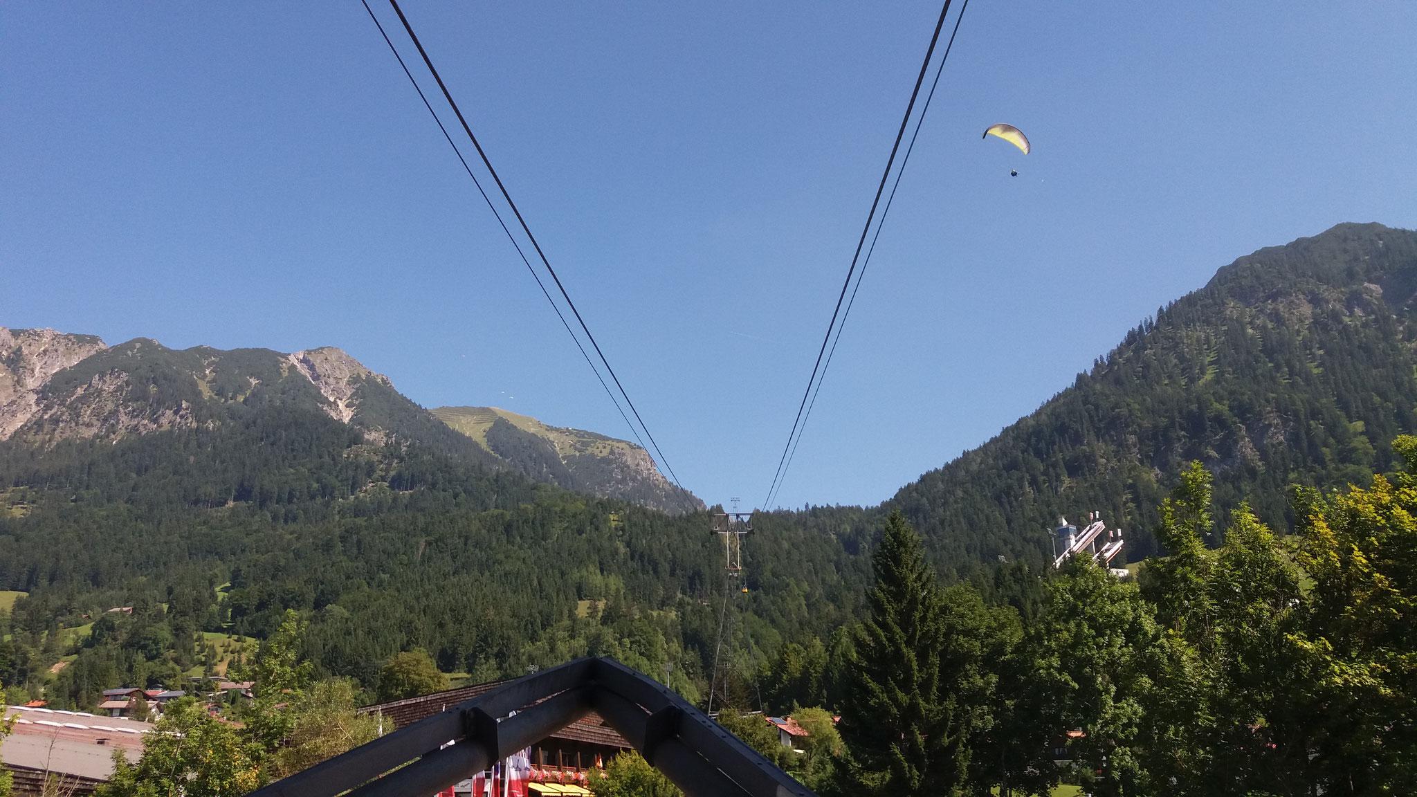 Mit der Nebelhornbahn