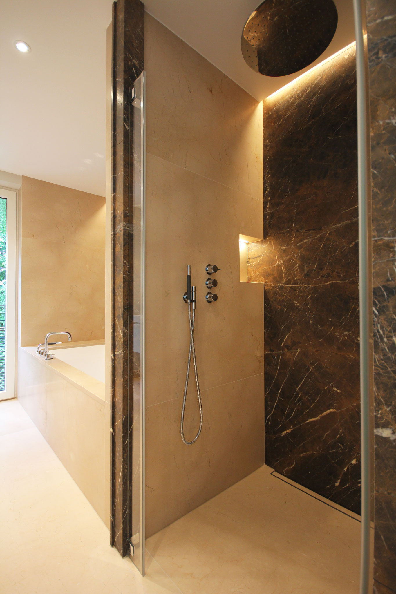 Dusche Master Bad Penthouse