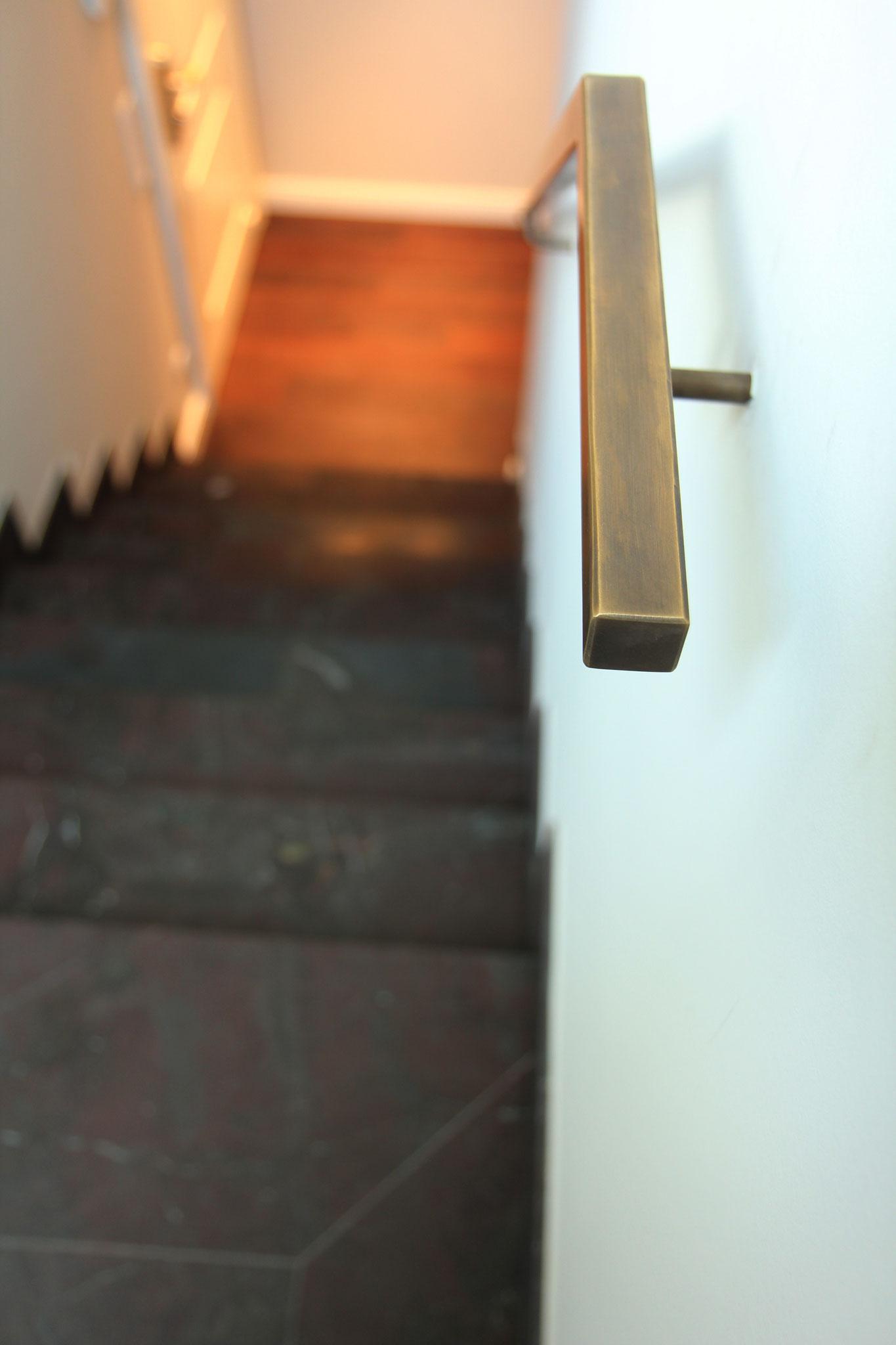 Detail Handlauf Penthouse