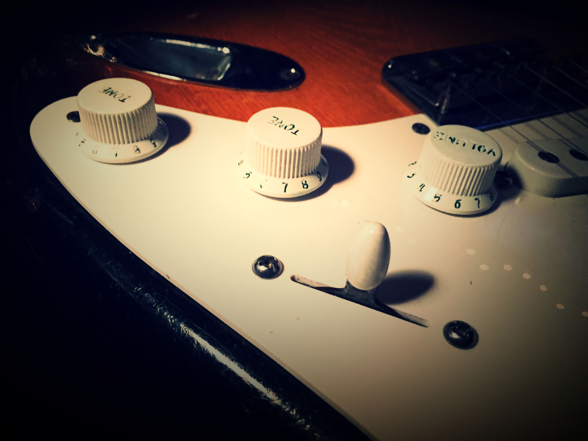 Original Fender Stratocaster Controls