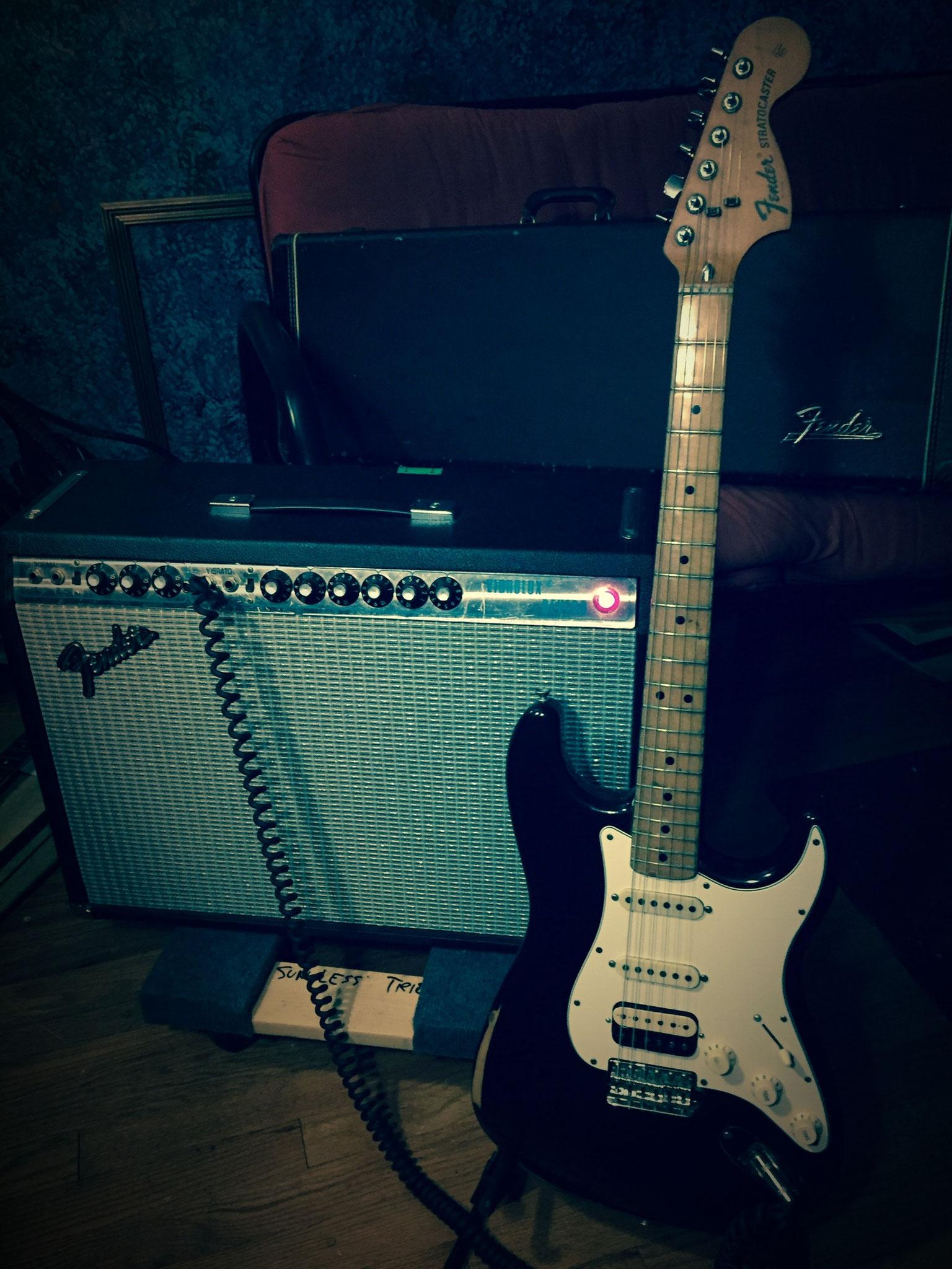 Fender Stratocaster Vibrolux 1975