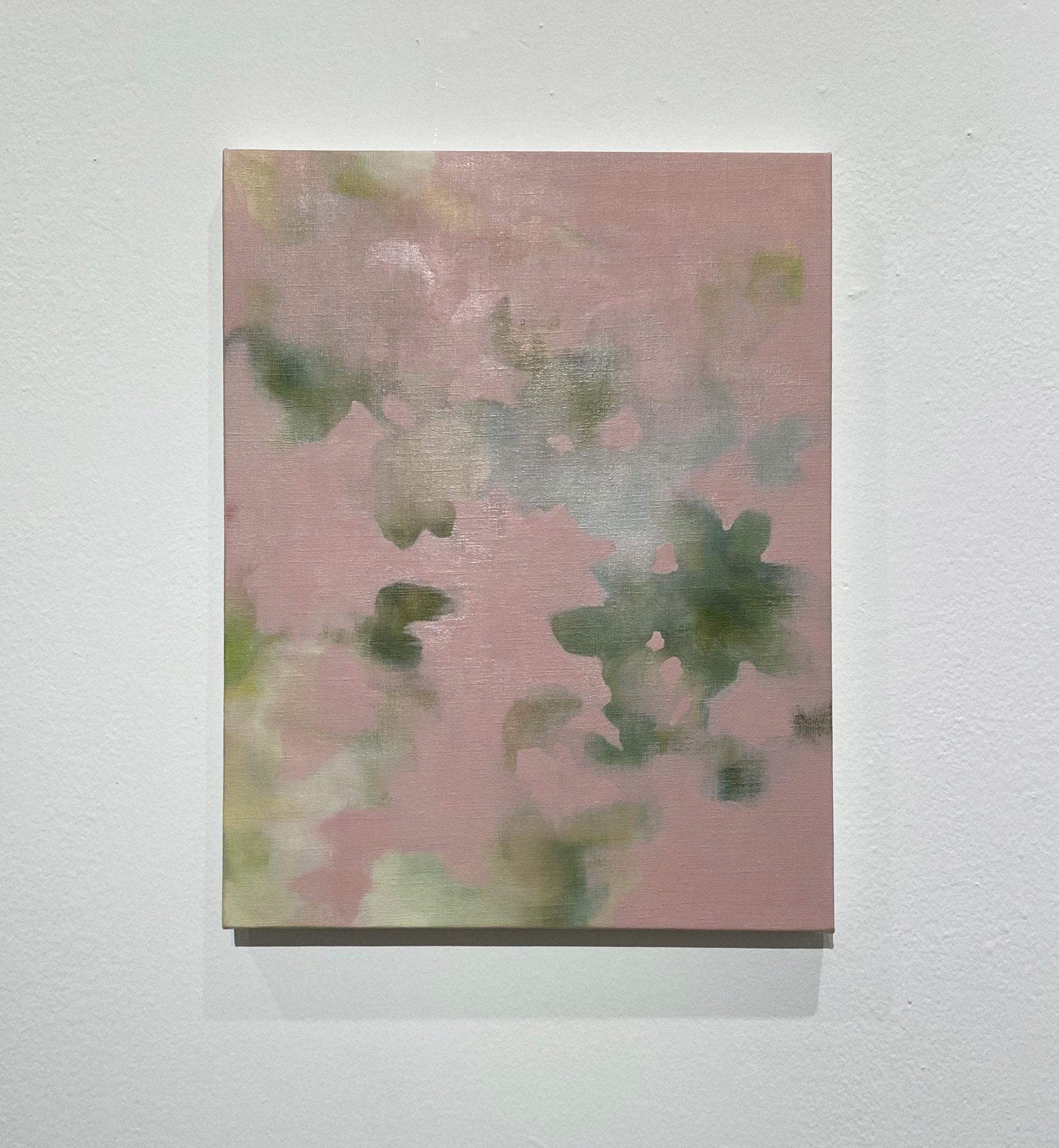 いつくしみひらく,410×318,キャンバス、油彩,2020