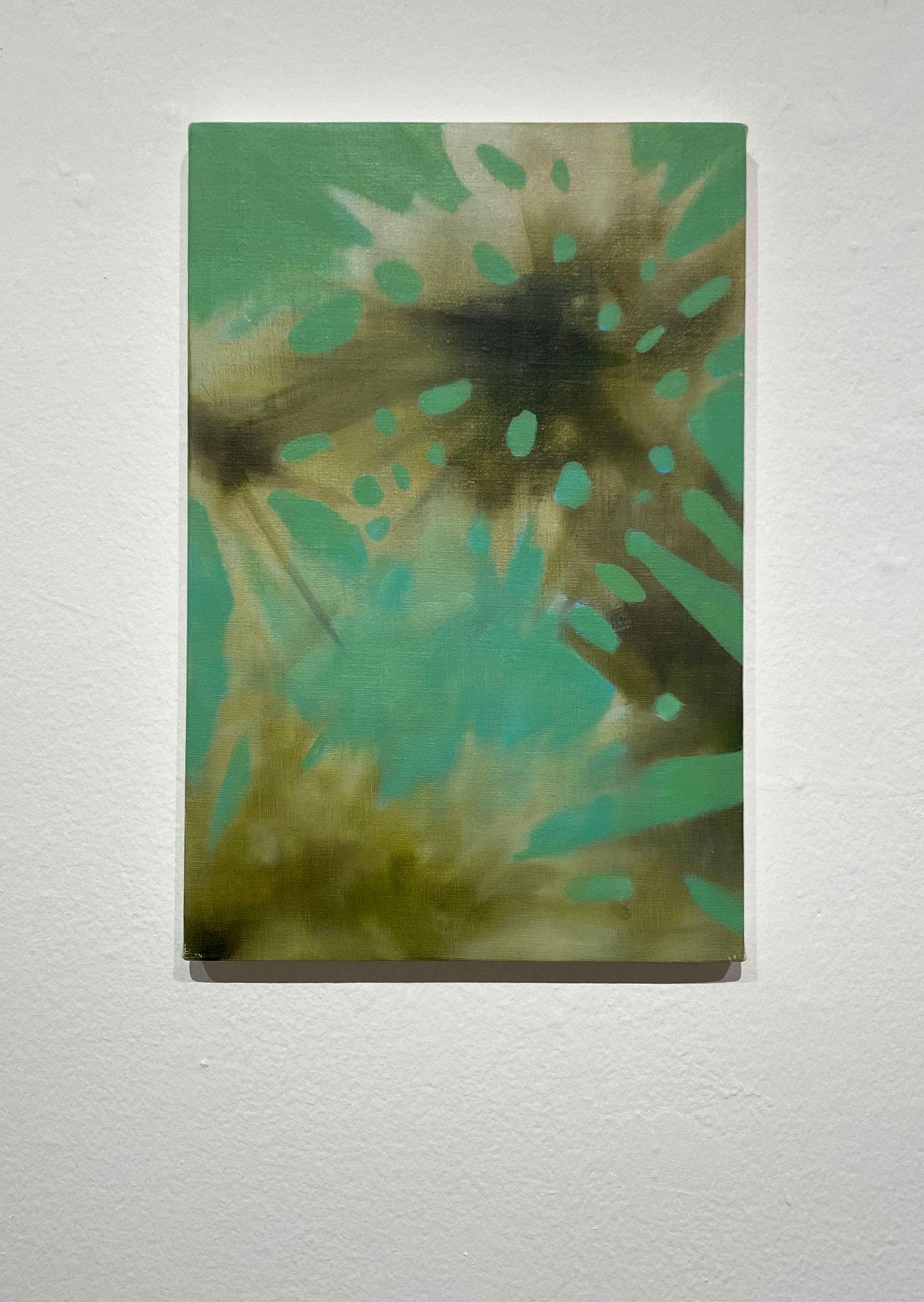 きりさすたびに,333×220,キャンバス、油彩,2020