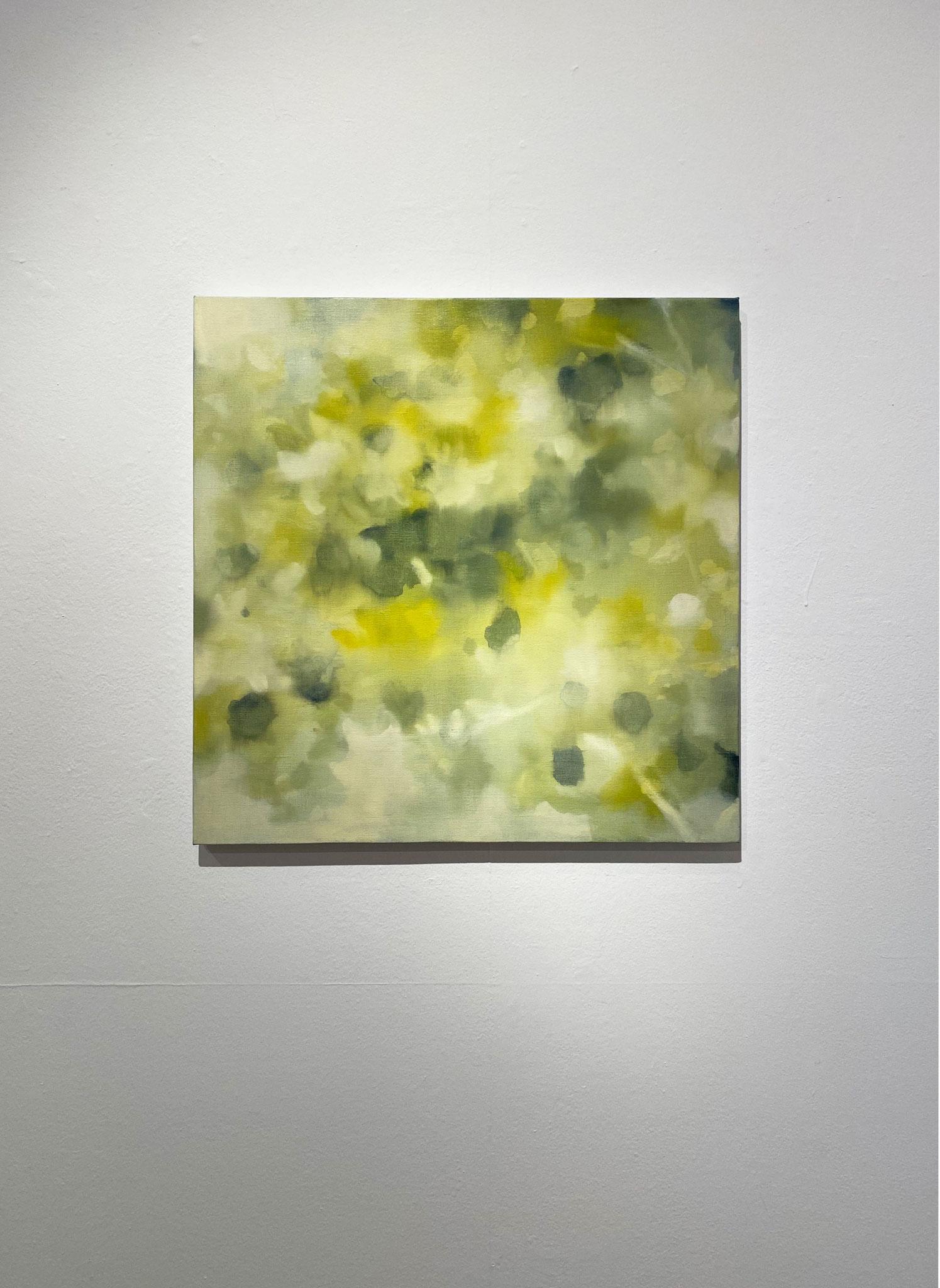 みずいのるかたへ,530×530,キャンバス、油彩,2020