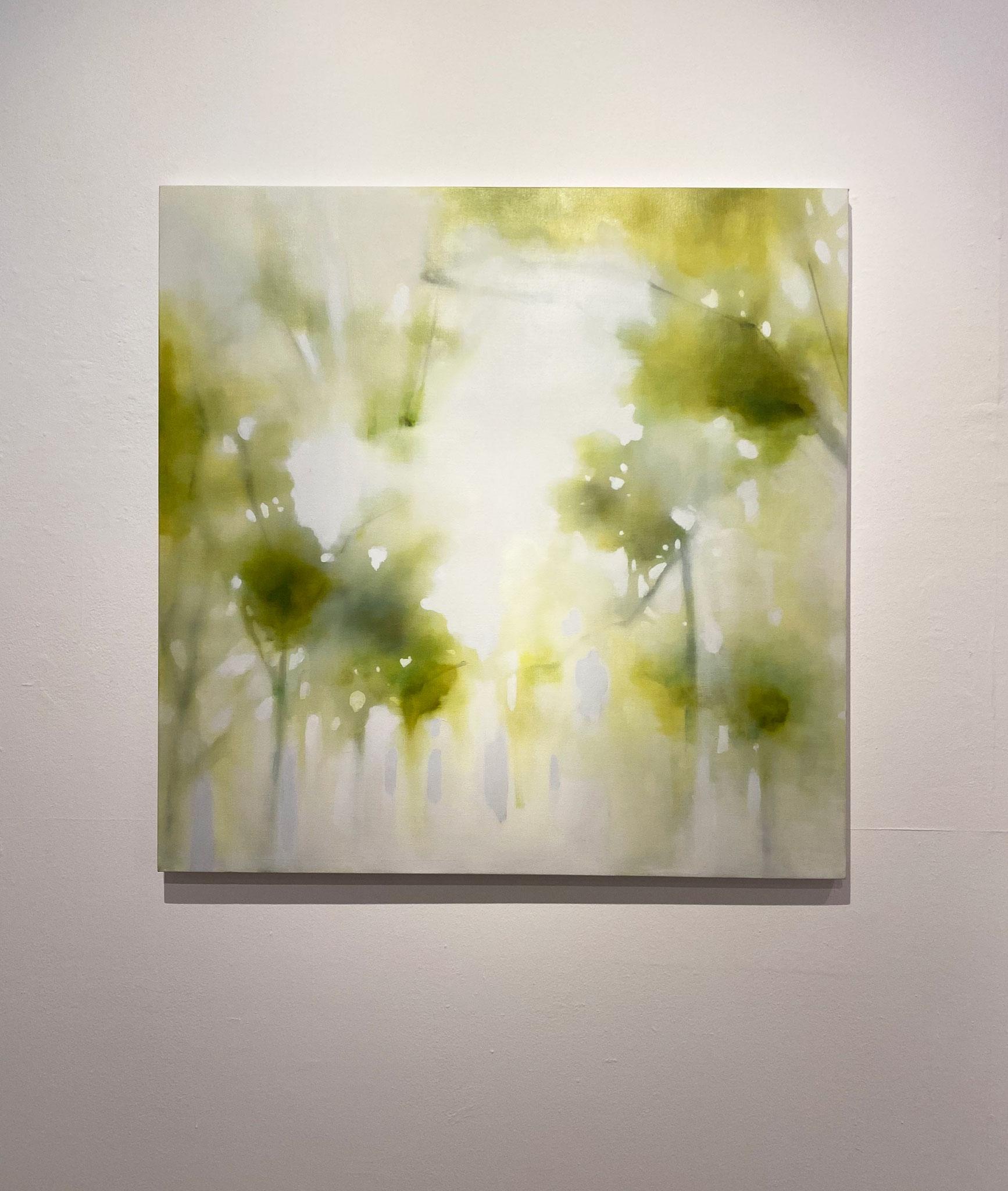 奥帰り(限りない),910×910,キャンバス、油彩,2019