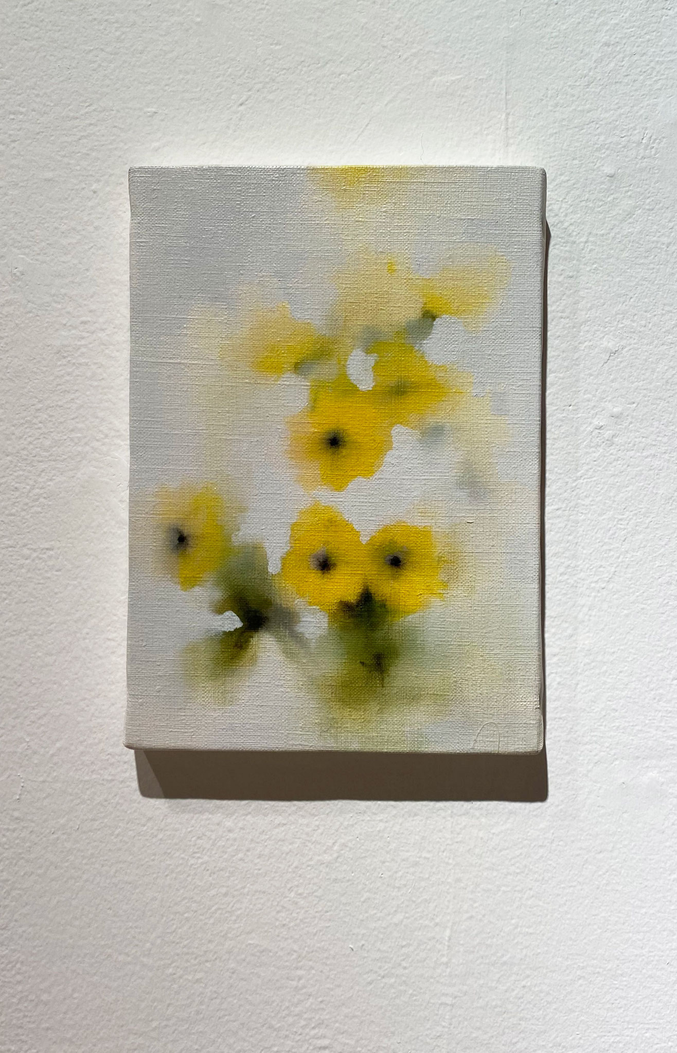みるように目を閉じる,227×158,キャンバス、油彩,2020