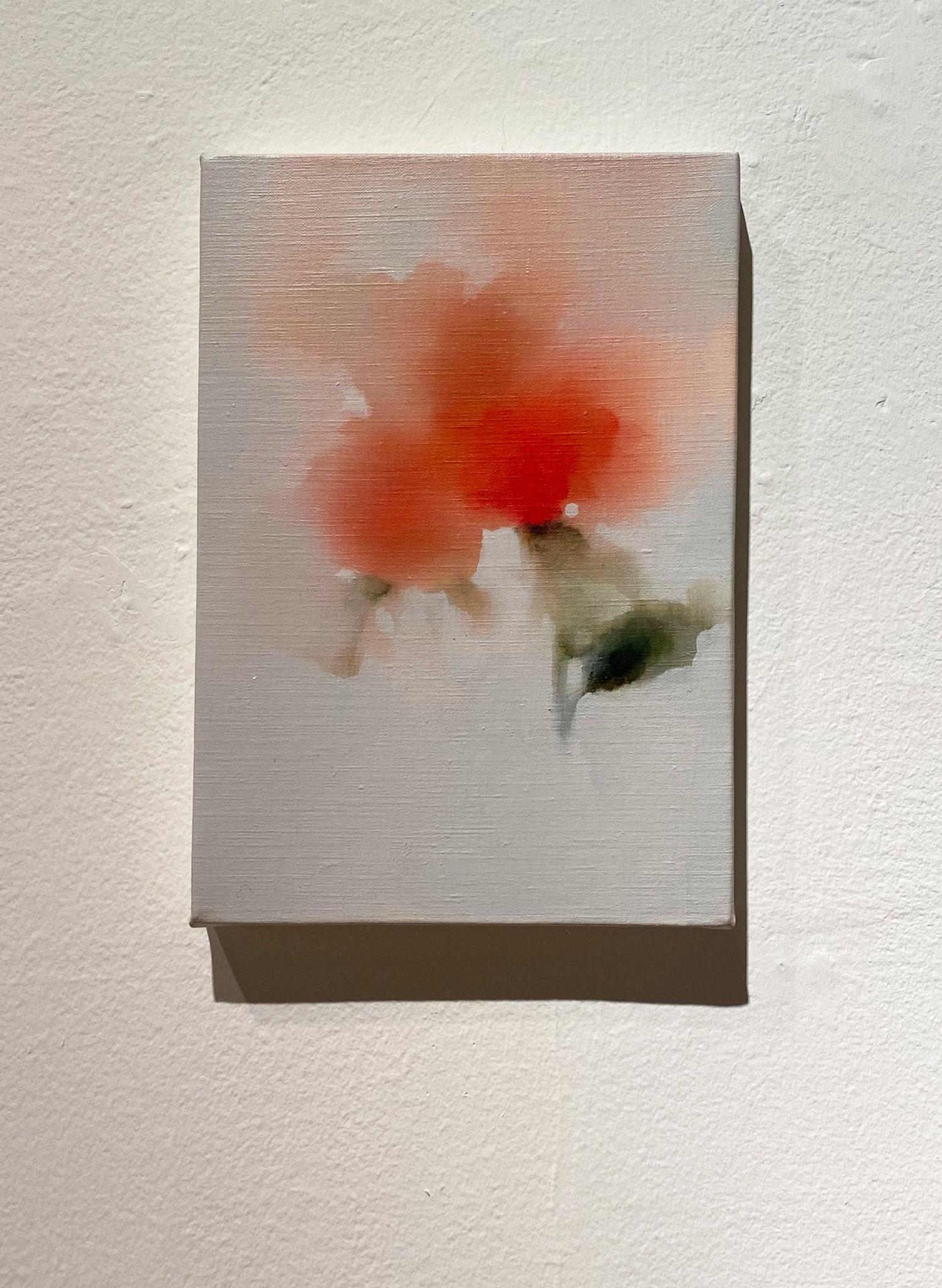 線を引く(深くわたる),227×158,キャンバス、油彩,2019